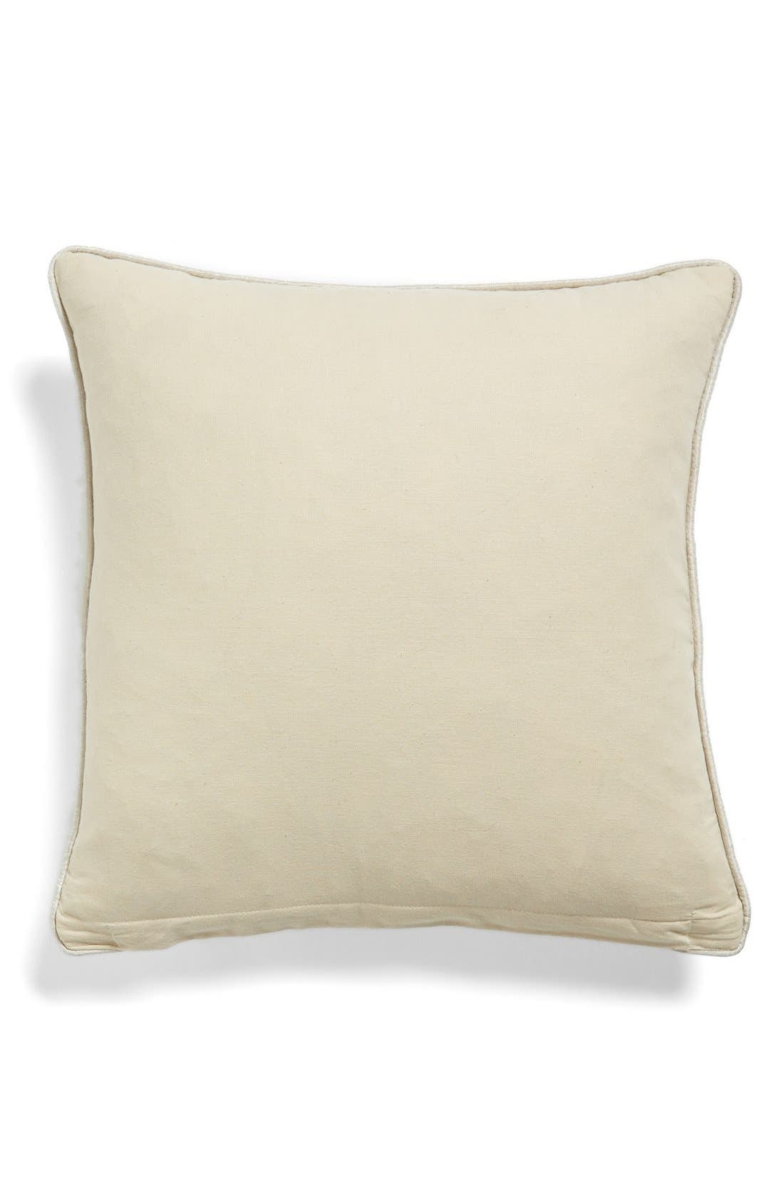 Alternate Image 2  - Levtex Floral Stitch Accent Pillow