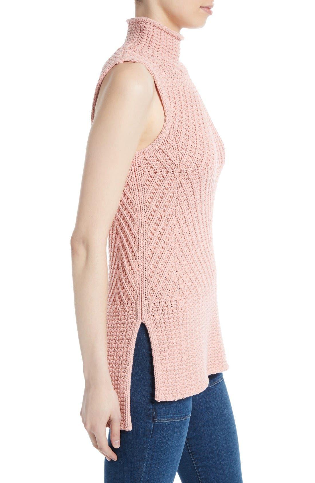 Alternate Image 3  - Alice + Olivia Abbot Mock Neck Sweater