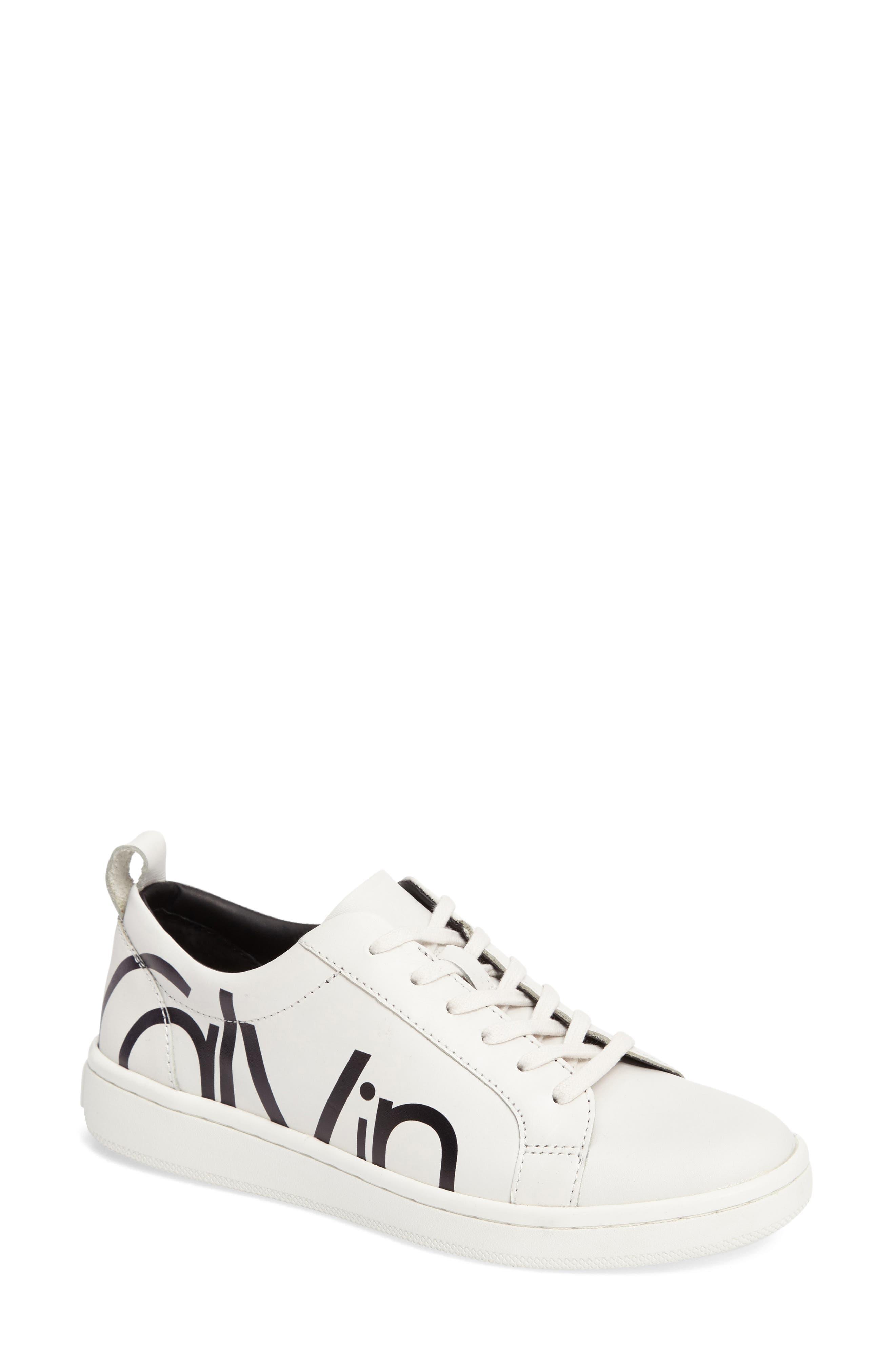 Alternate Image 1 Selected - Calvin Klein Danya Logo Sneaker (Women)