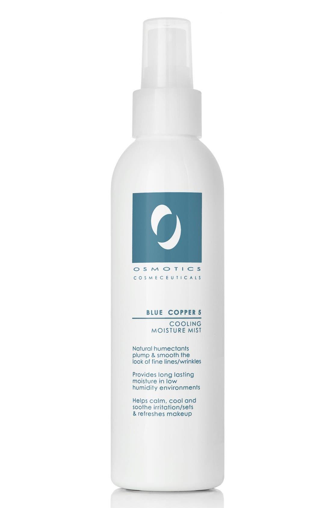 Alternate Image 1 Selected - Osmotics Cosmeceuticals Blue Copper 5 Cooling Moisture Mist