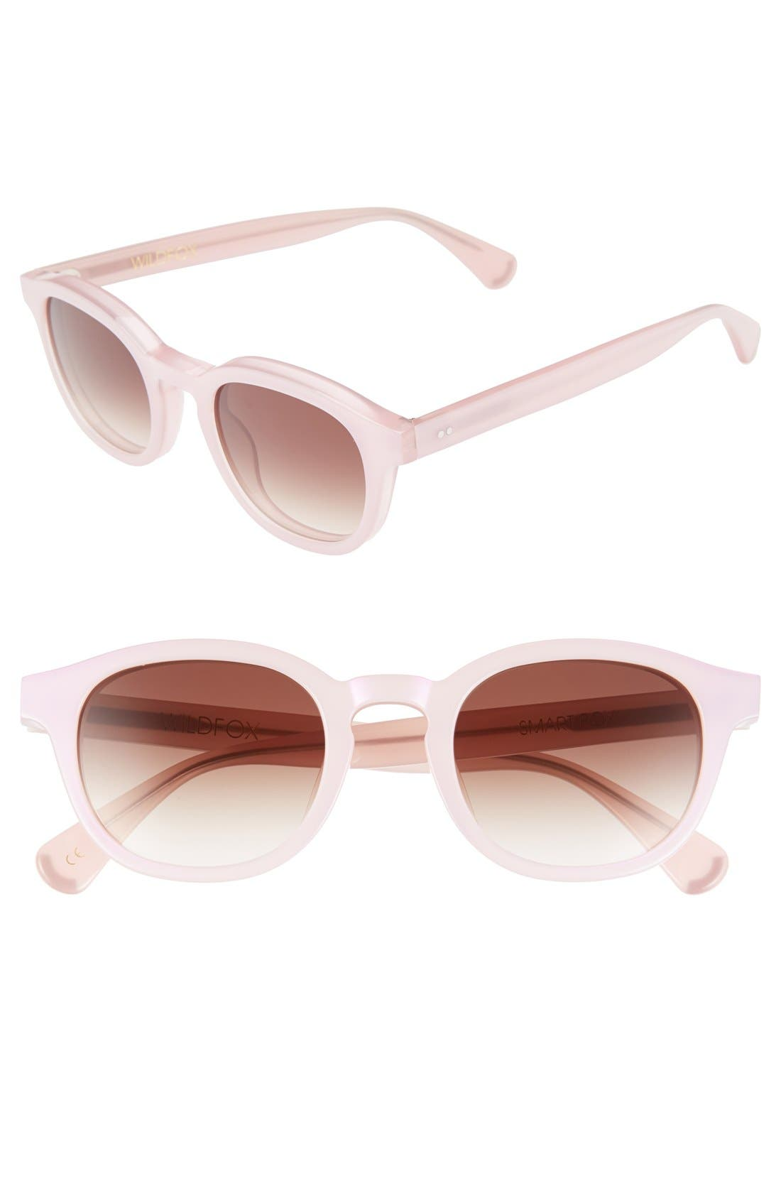 Alternate Image 1 Selected - Wildfox 'Smart Fox' 52mm Sunglasses