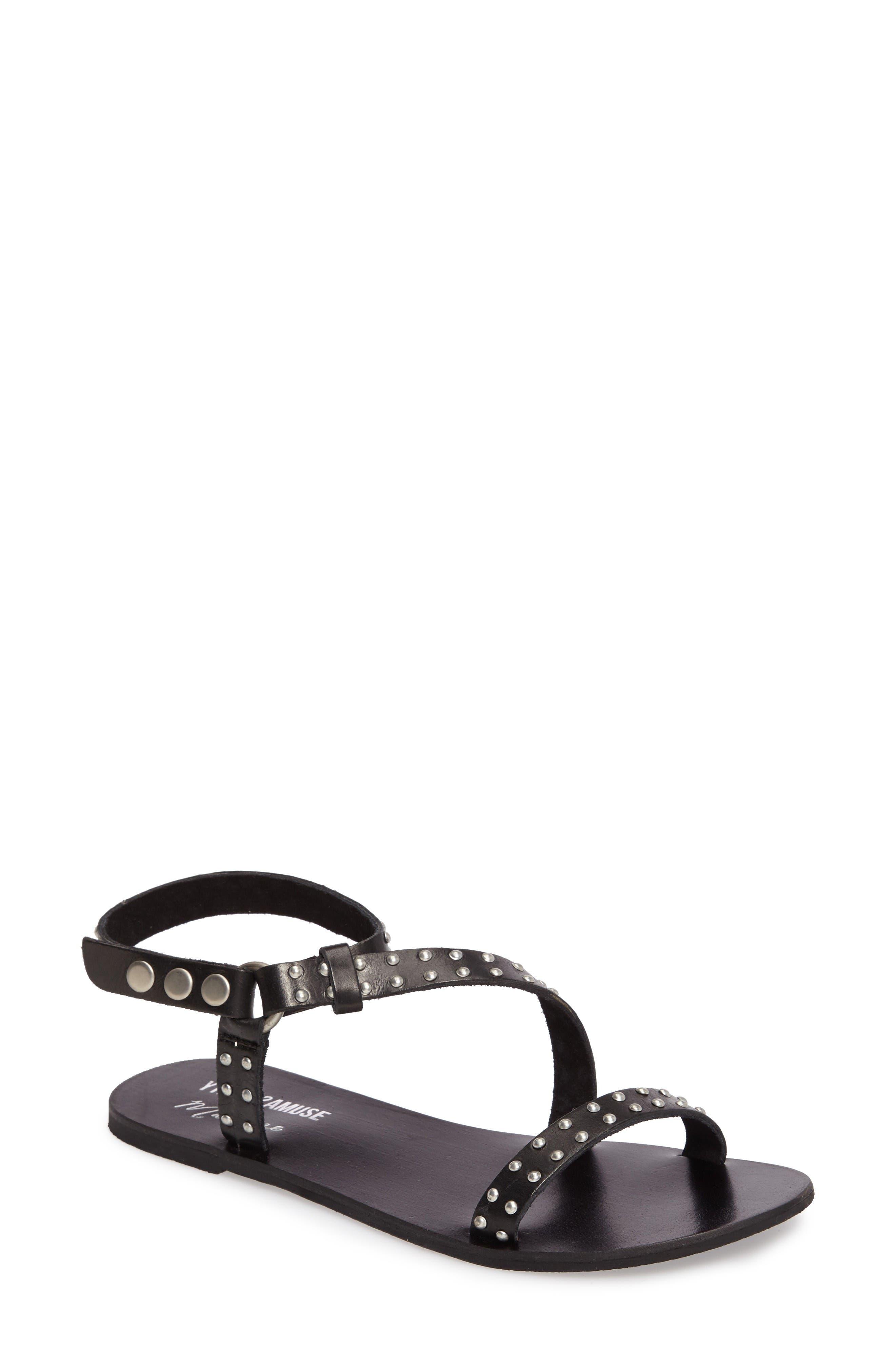 Main Image - Amuse Society x Matisse Rock Muse Studded Sandal (Women)