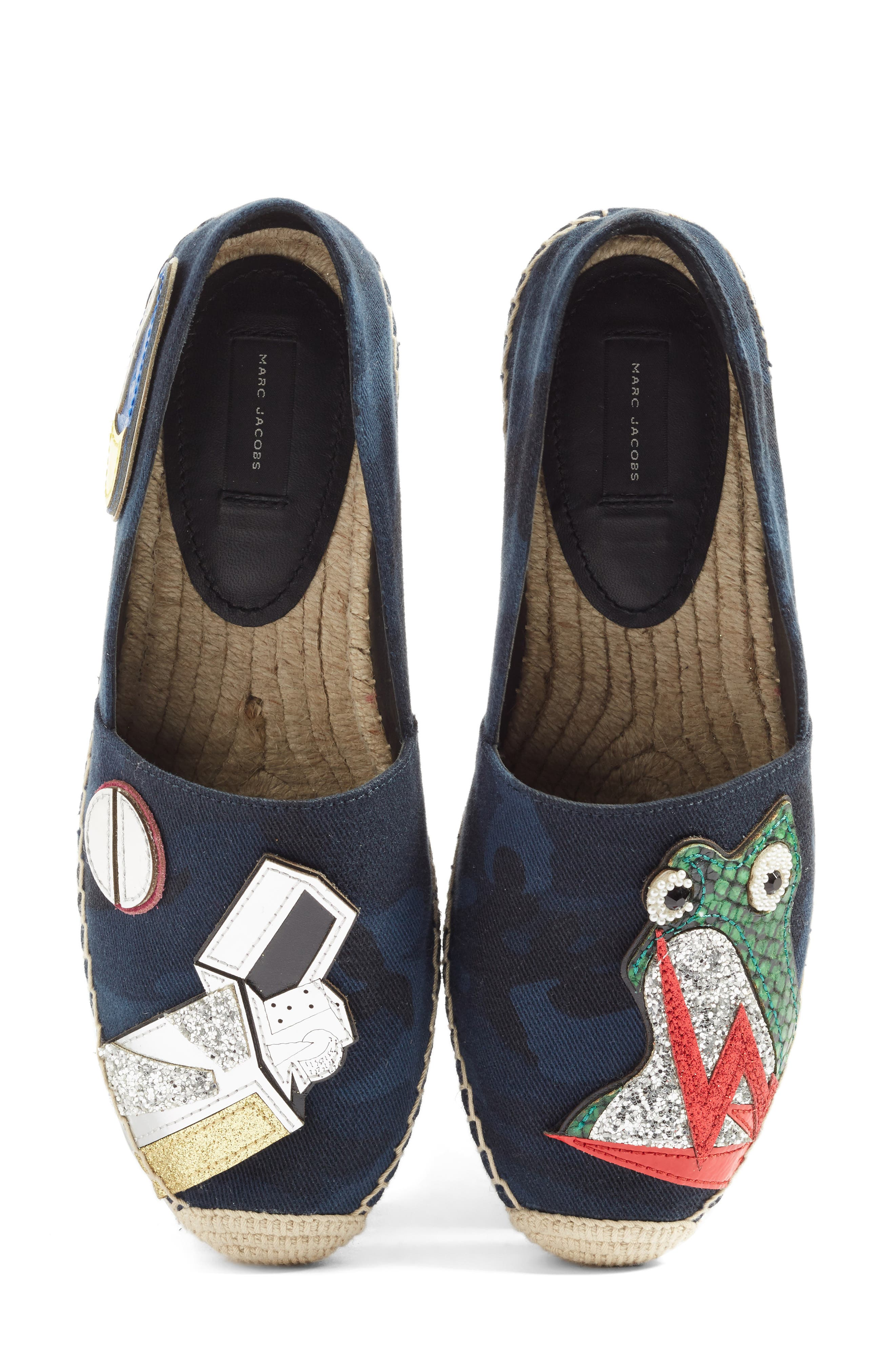 MARC JACOBS Sienna Frog Espadrille Flat