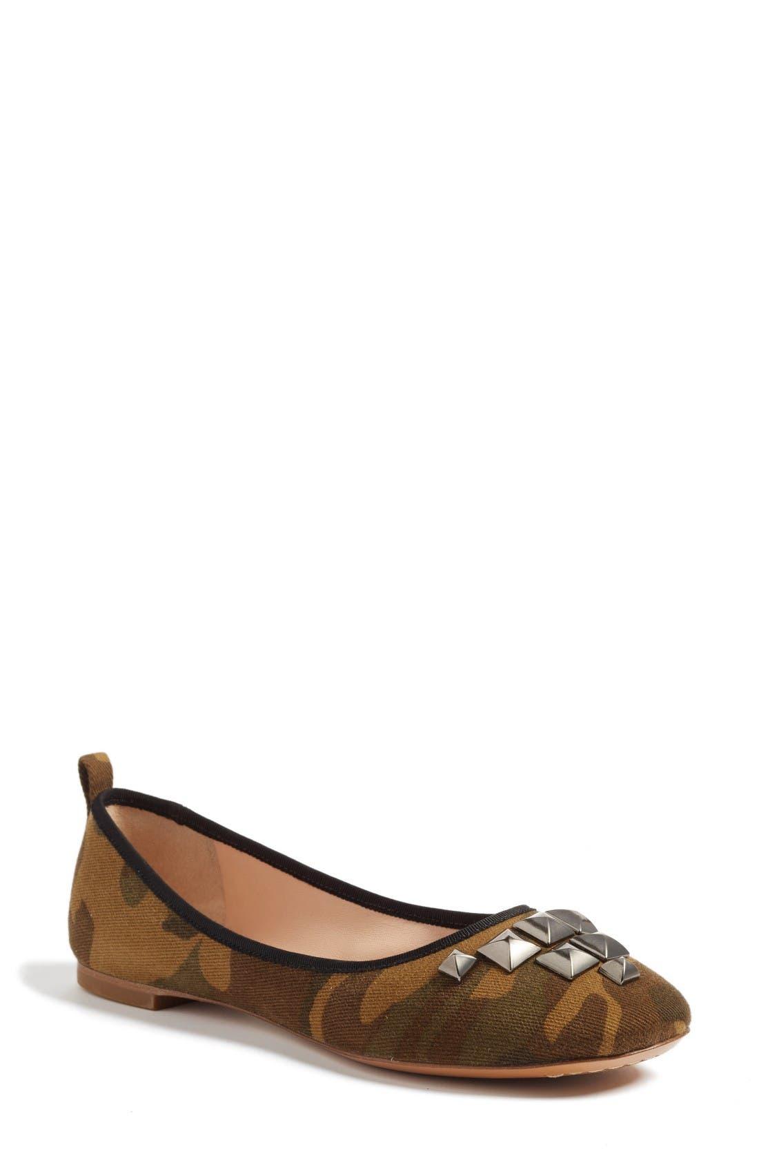 MARC JACOBS Cleo Studded Ballet Flat