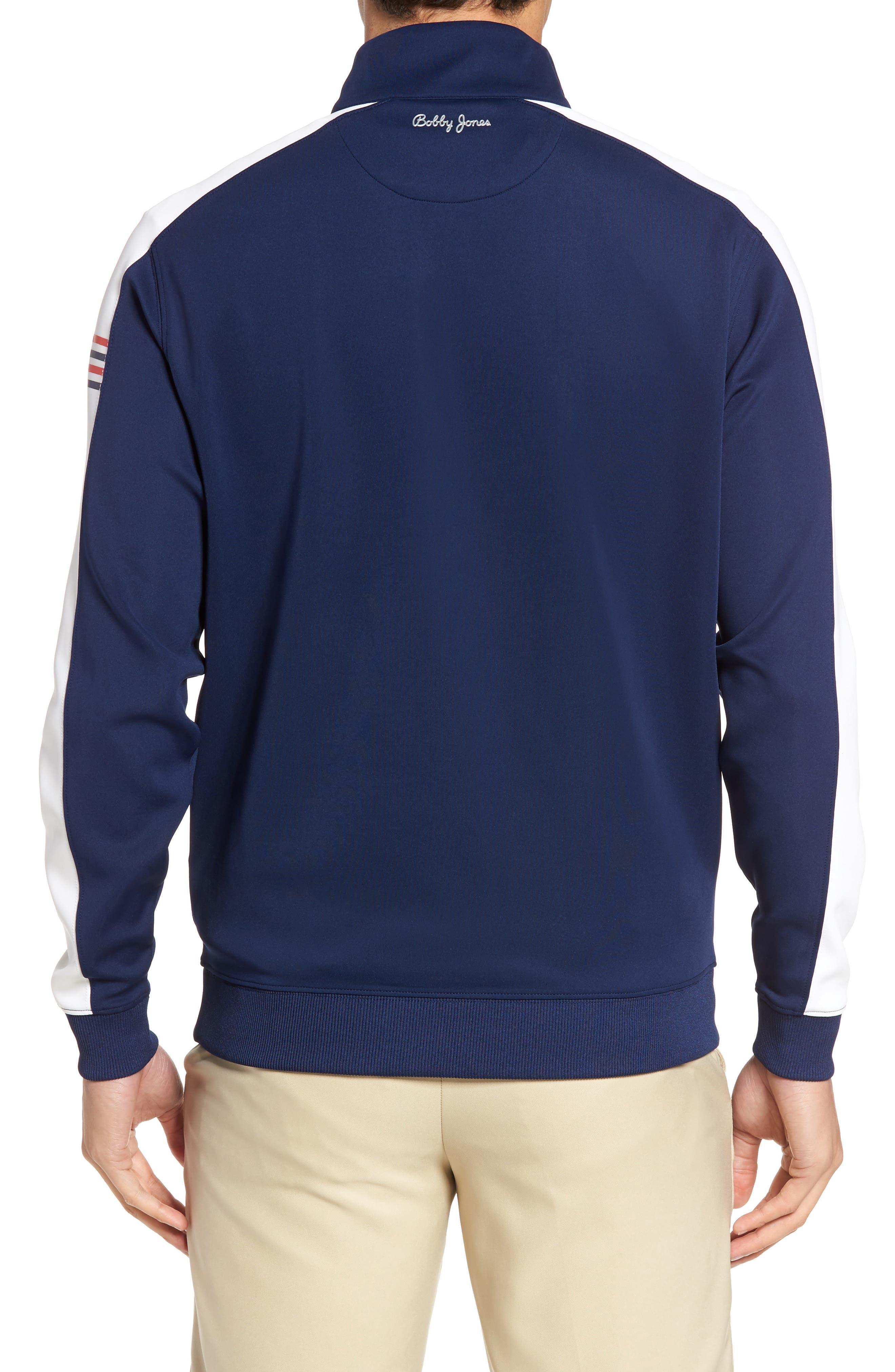 Alternate Image 2  - Bobby Jones XH20 Tech Quarter Zip Sweater