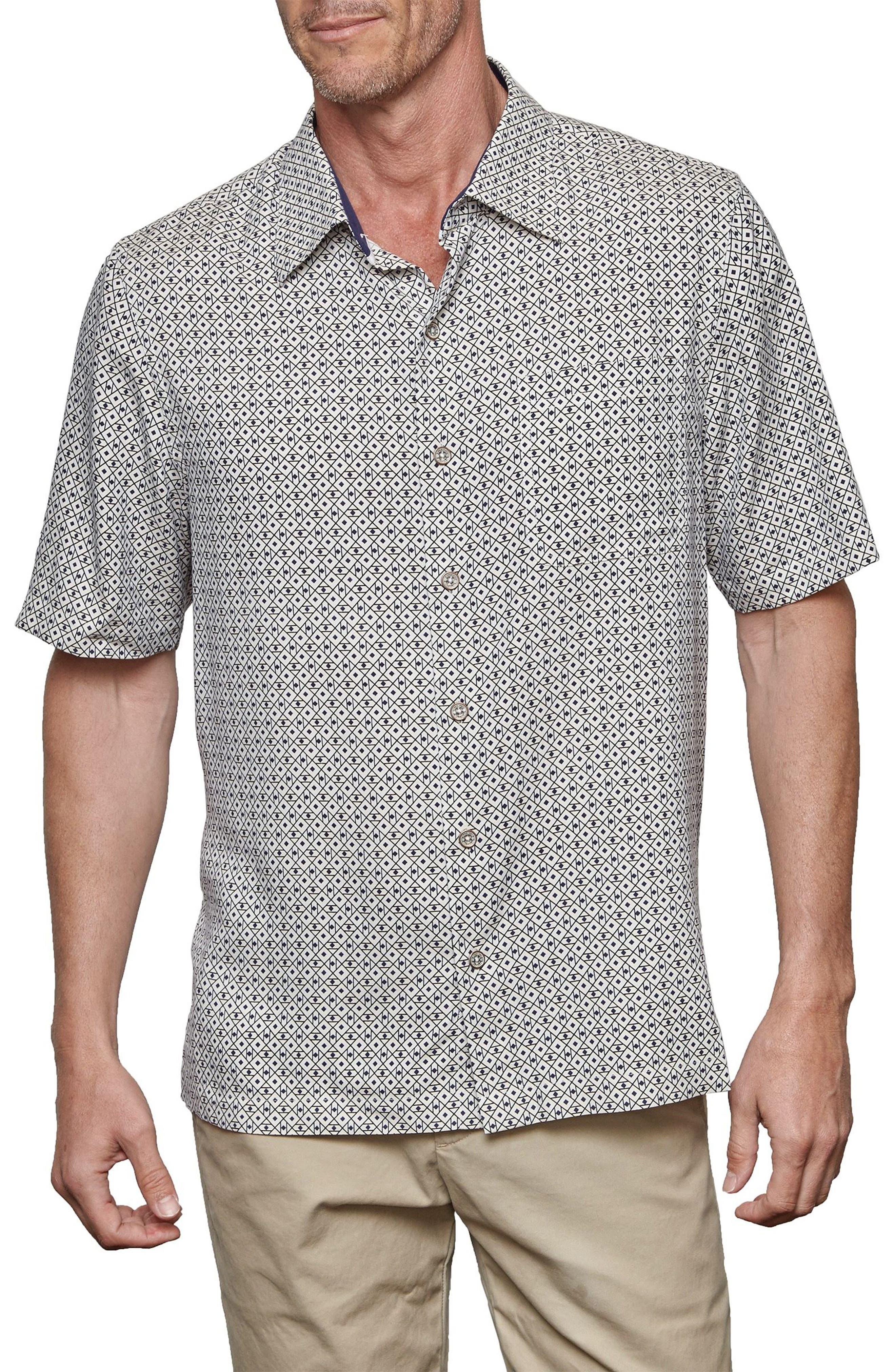 NAT NAST Double Shot Silk Blend Sport Shirt