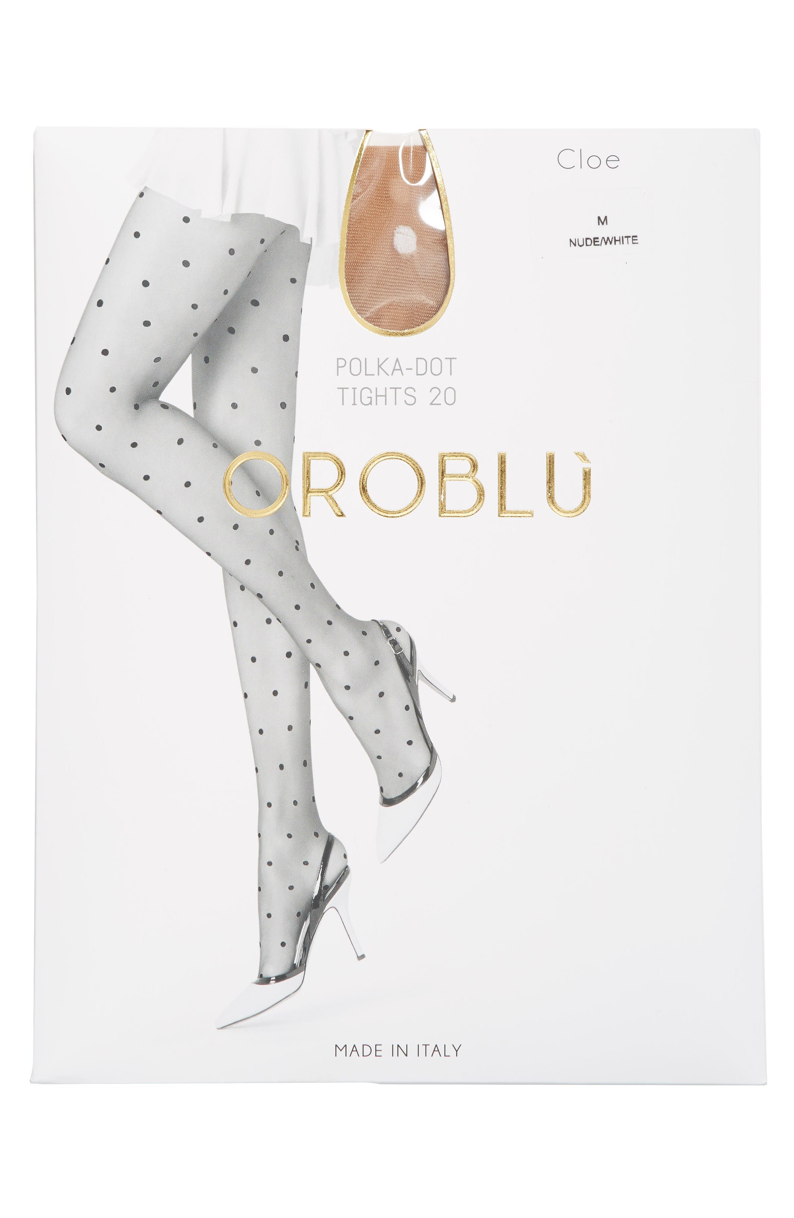 Alternate Image 2  - Oroblu Cloe Polka Dot Tights