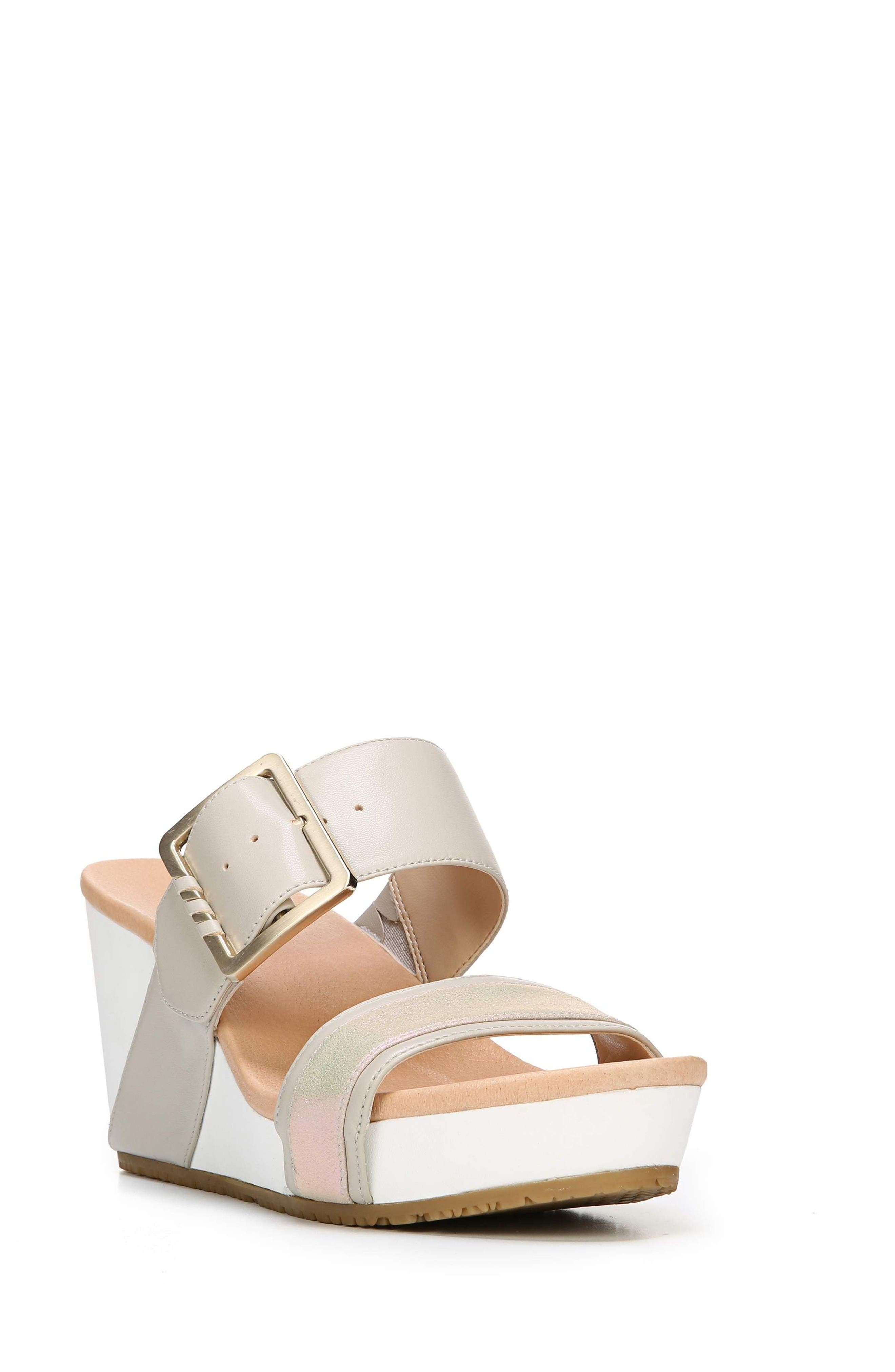 Dr. Scholl's Original Collection Frill Wedge Sandal (Women)