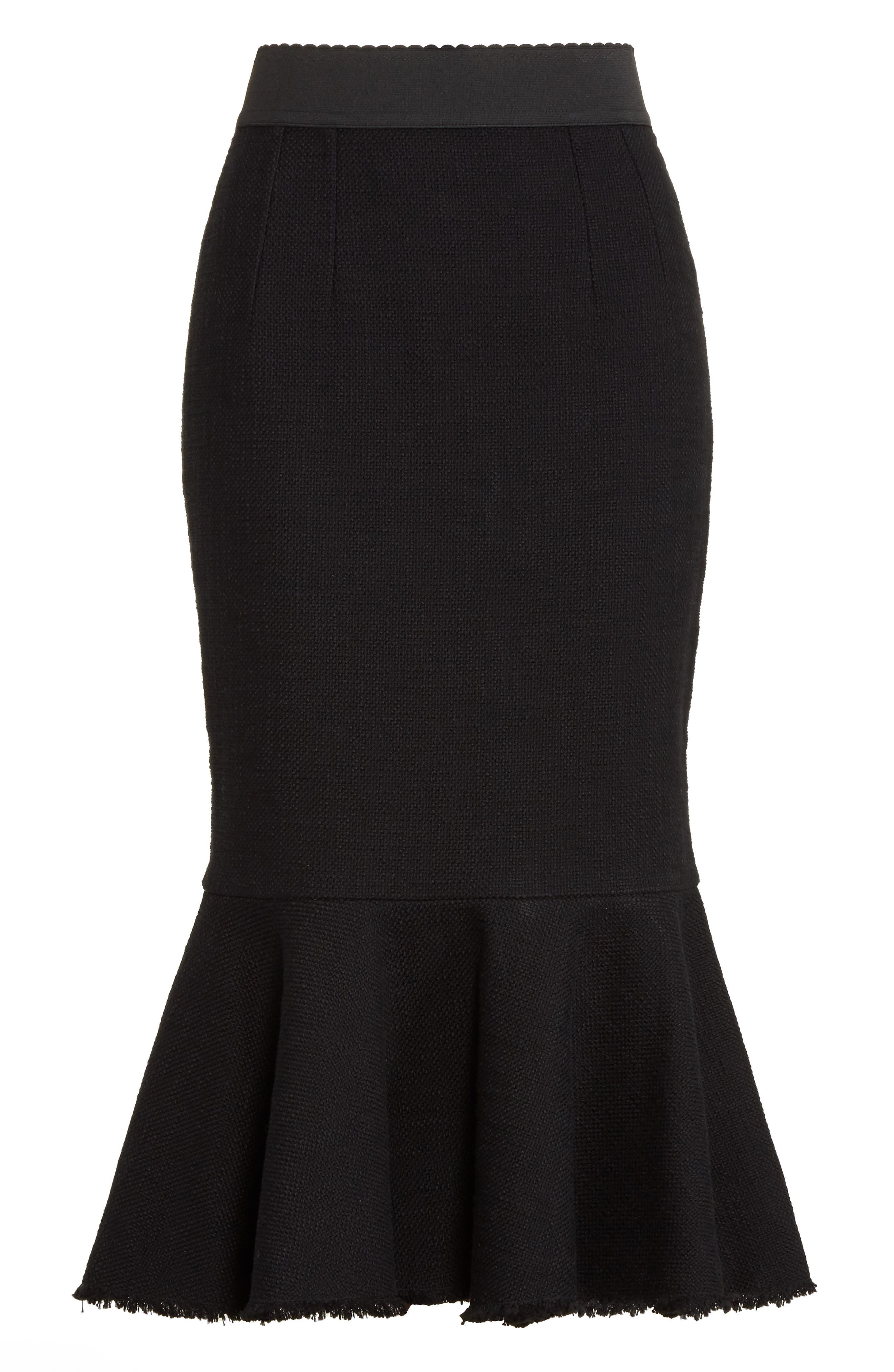 Alternate Image 4  - Dolce&Gabbana Flare Hem Skirt