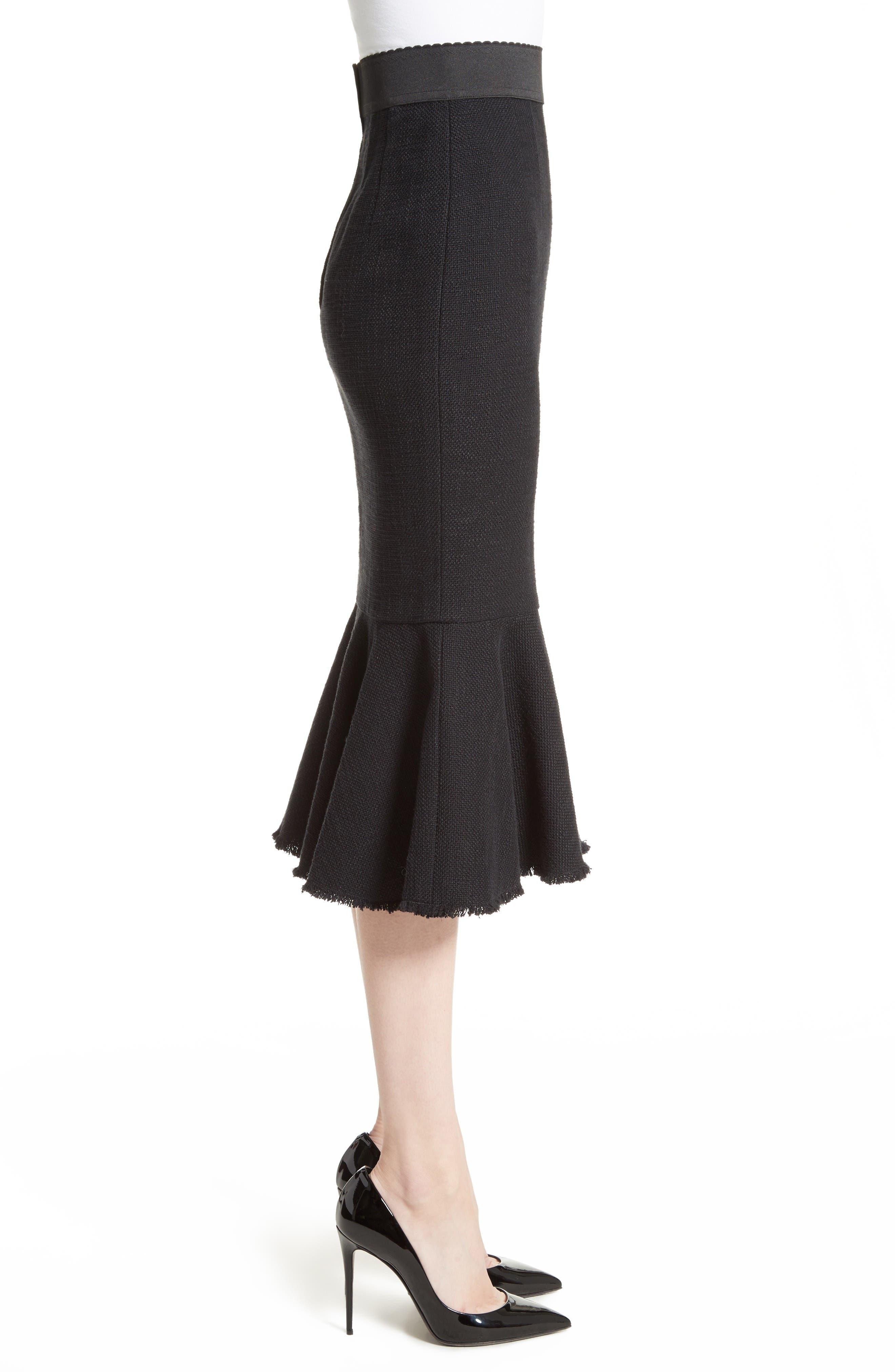 Alternate Image 5  - Dolce&Gabbana Flare Hem Skirt