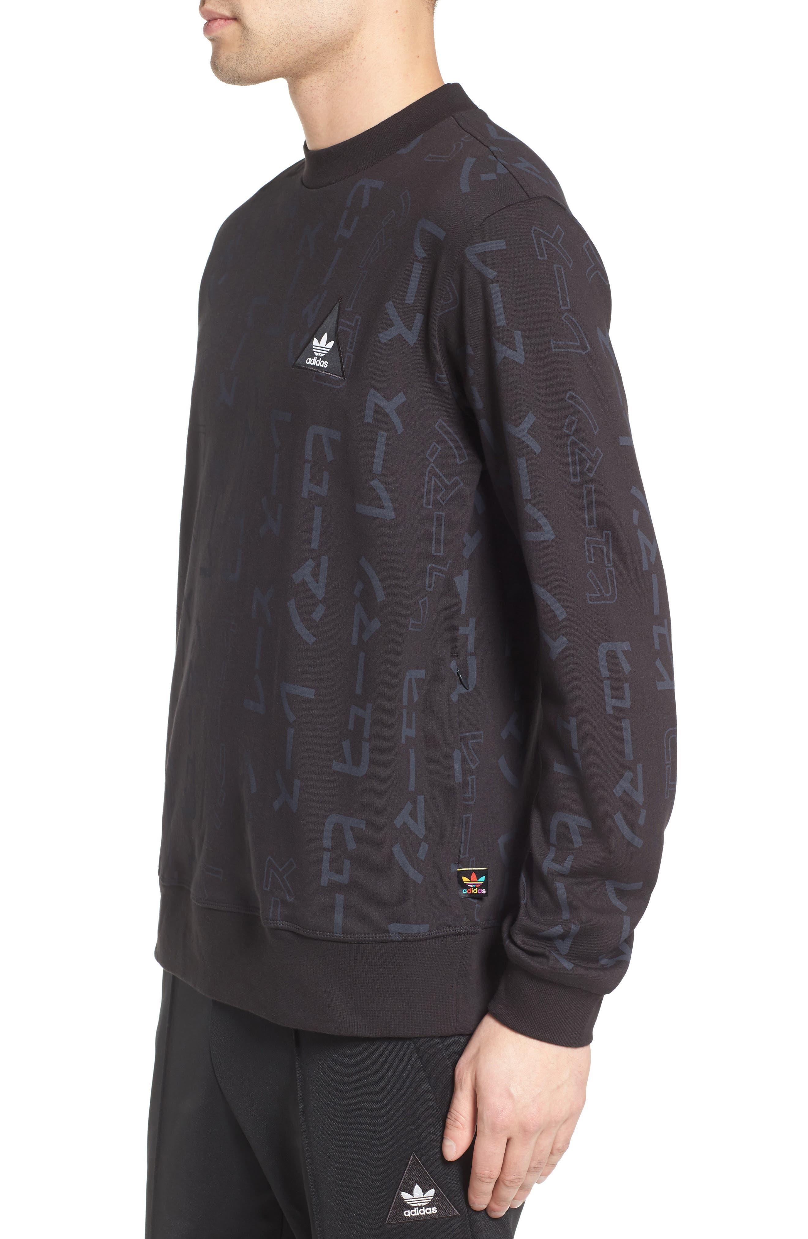 Alternate Image 3  - adidas Originals by Pharrell Williams HU Sweatshirt