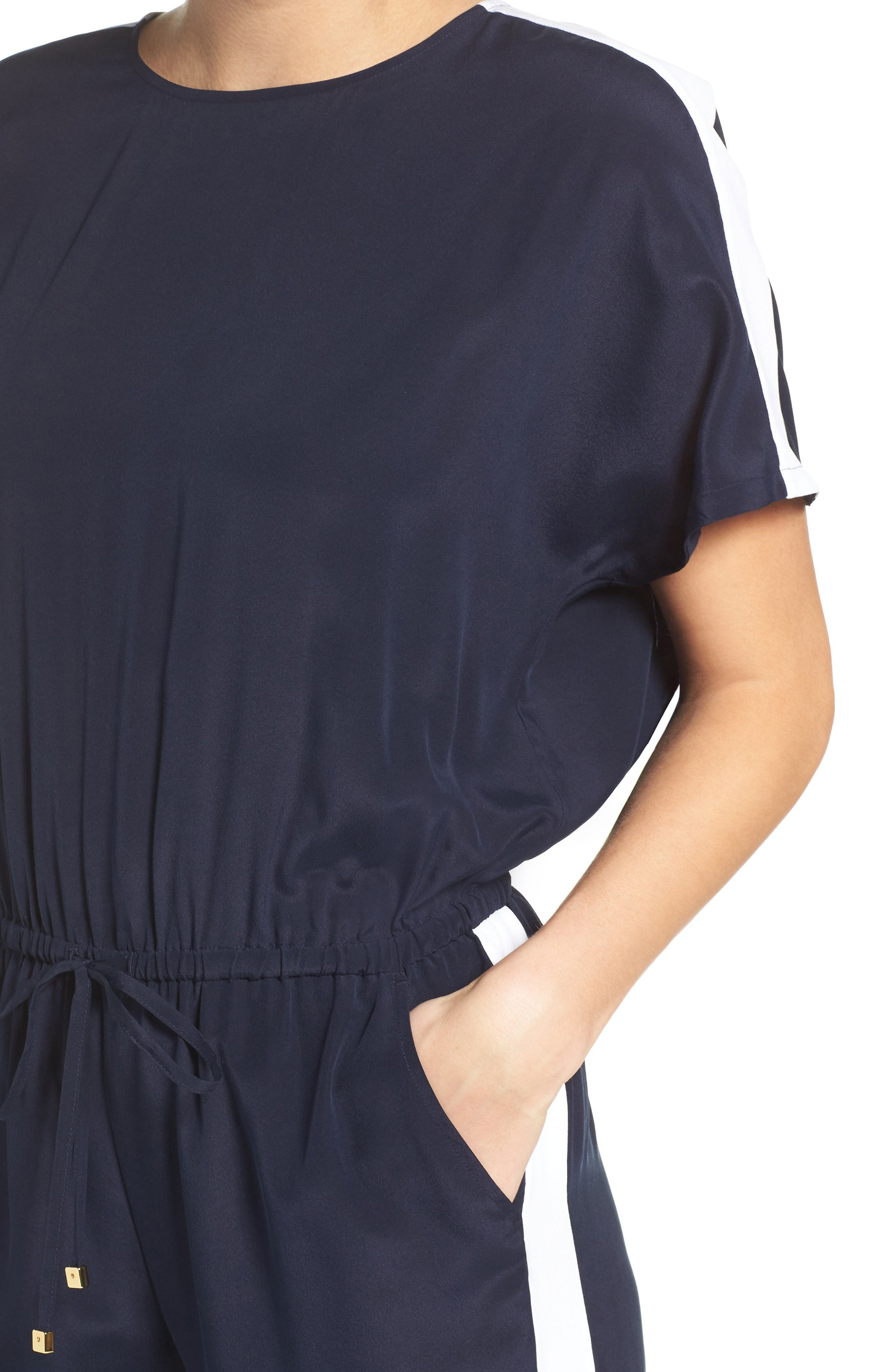 Alternate Image 4  - Tory Burch Silk Cover-Up Jumpsuit