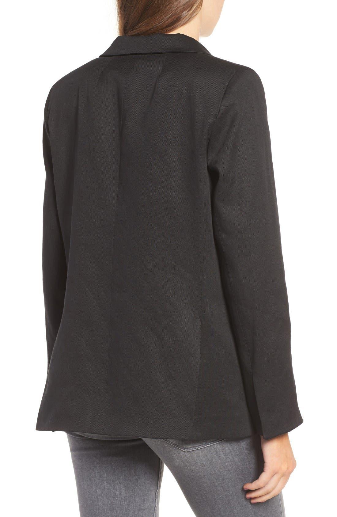 Alternate Image 2  - Sincerely Jules 'Riley' Notch Collar Blazer