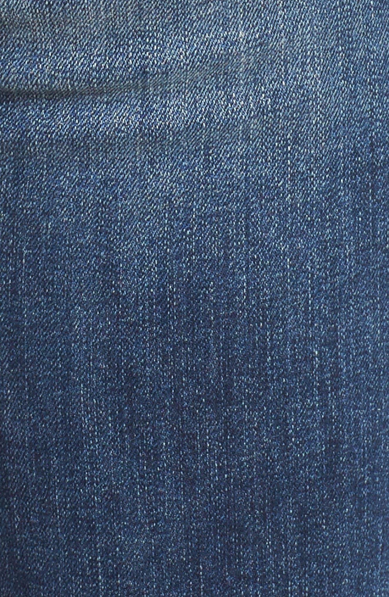 Alternate Image 5  - DL1961 Florence Instasculpt Skinny Jeans (Wicked)