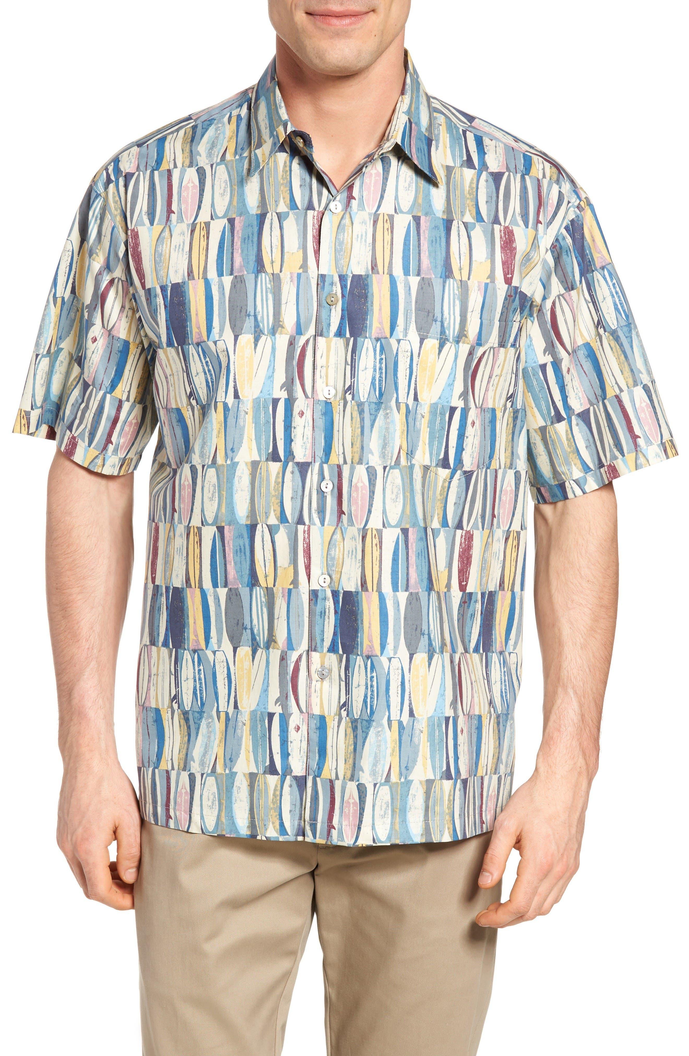 Tori Richard Board Room Regular Fit Print Sport Shirt