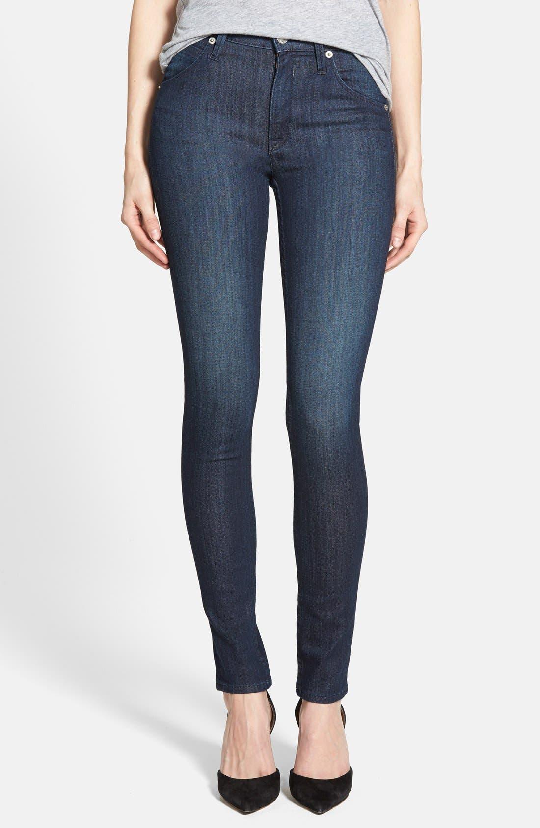 Alternate Image 1 Selected - Hudson Jeans 'Lynn' Ultra Skinny Jeans (Stella 2)