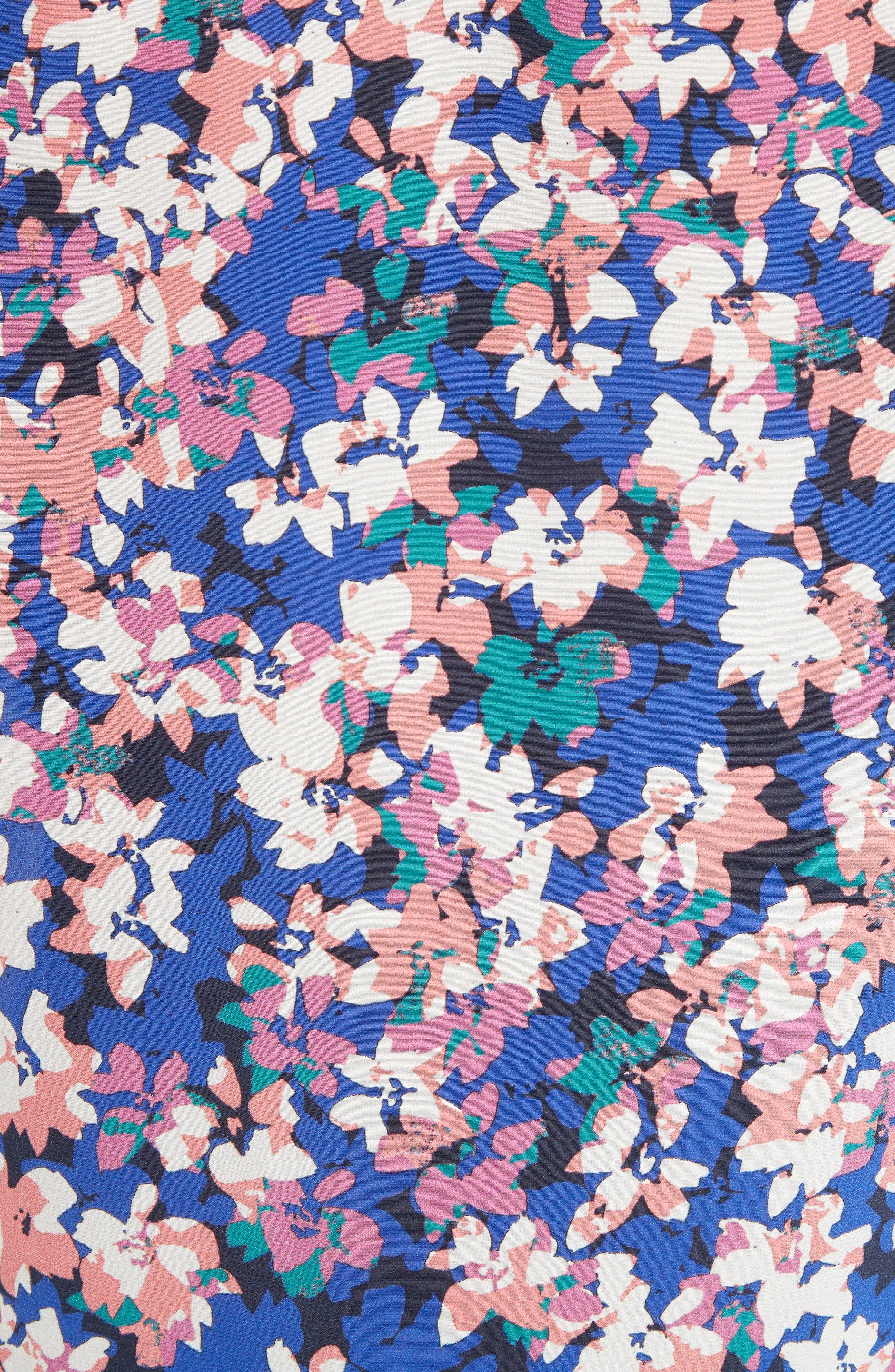 Alternate Image 5  - Tracy Reese Print Silk Blouse