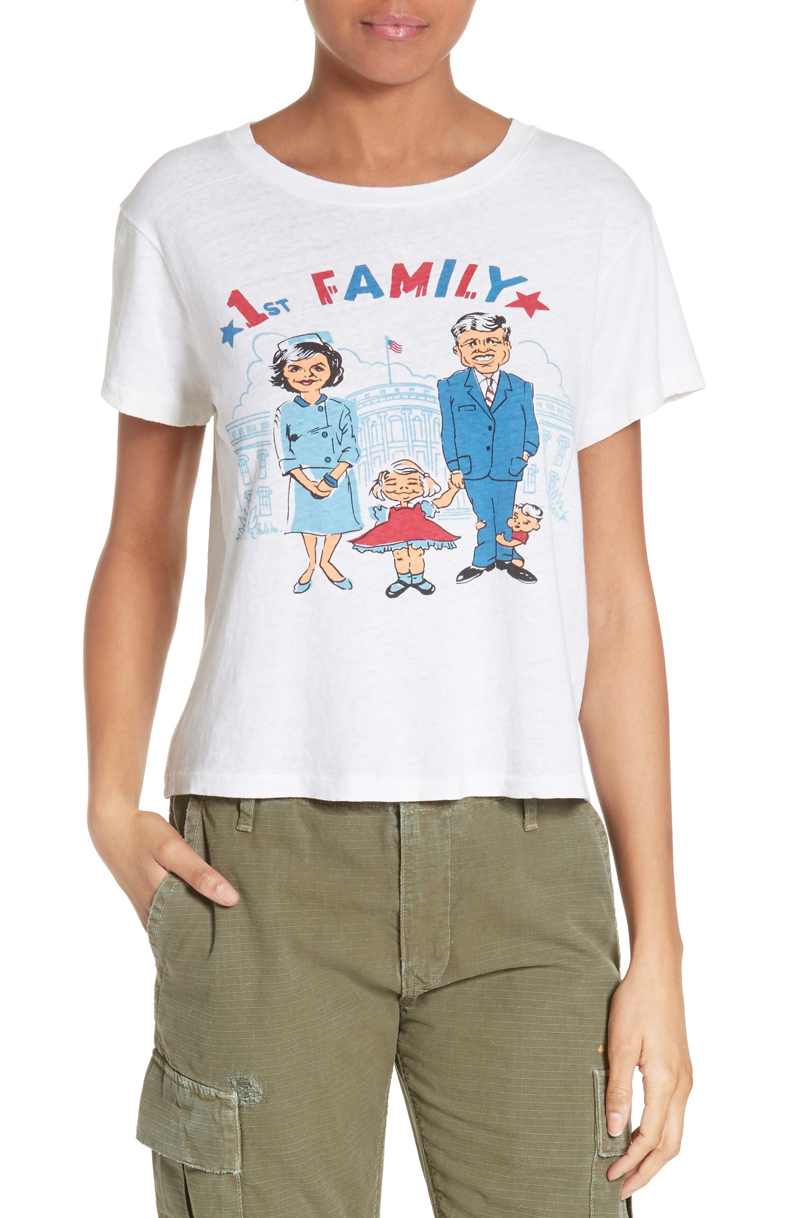 Re/Done First Family Graphic Tee