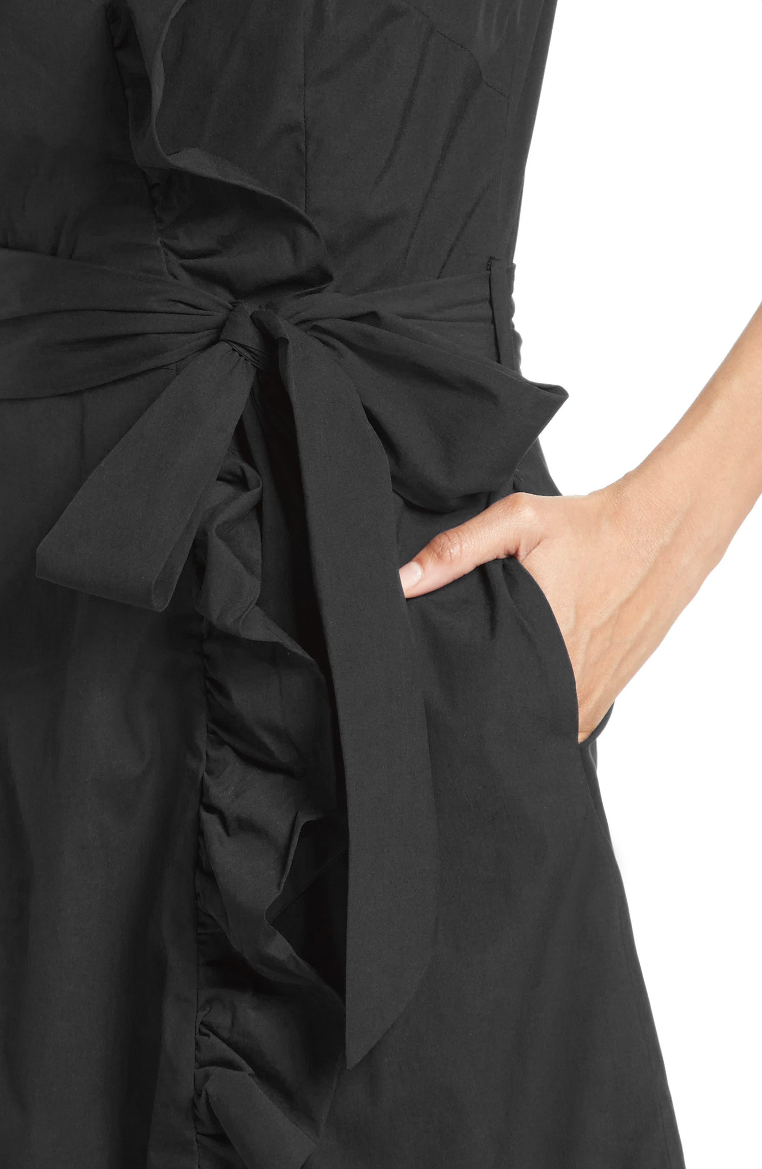 Alternate Image 4  - Milly Ruffle Wrap Dress