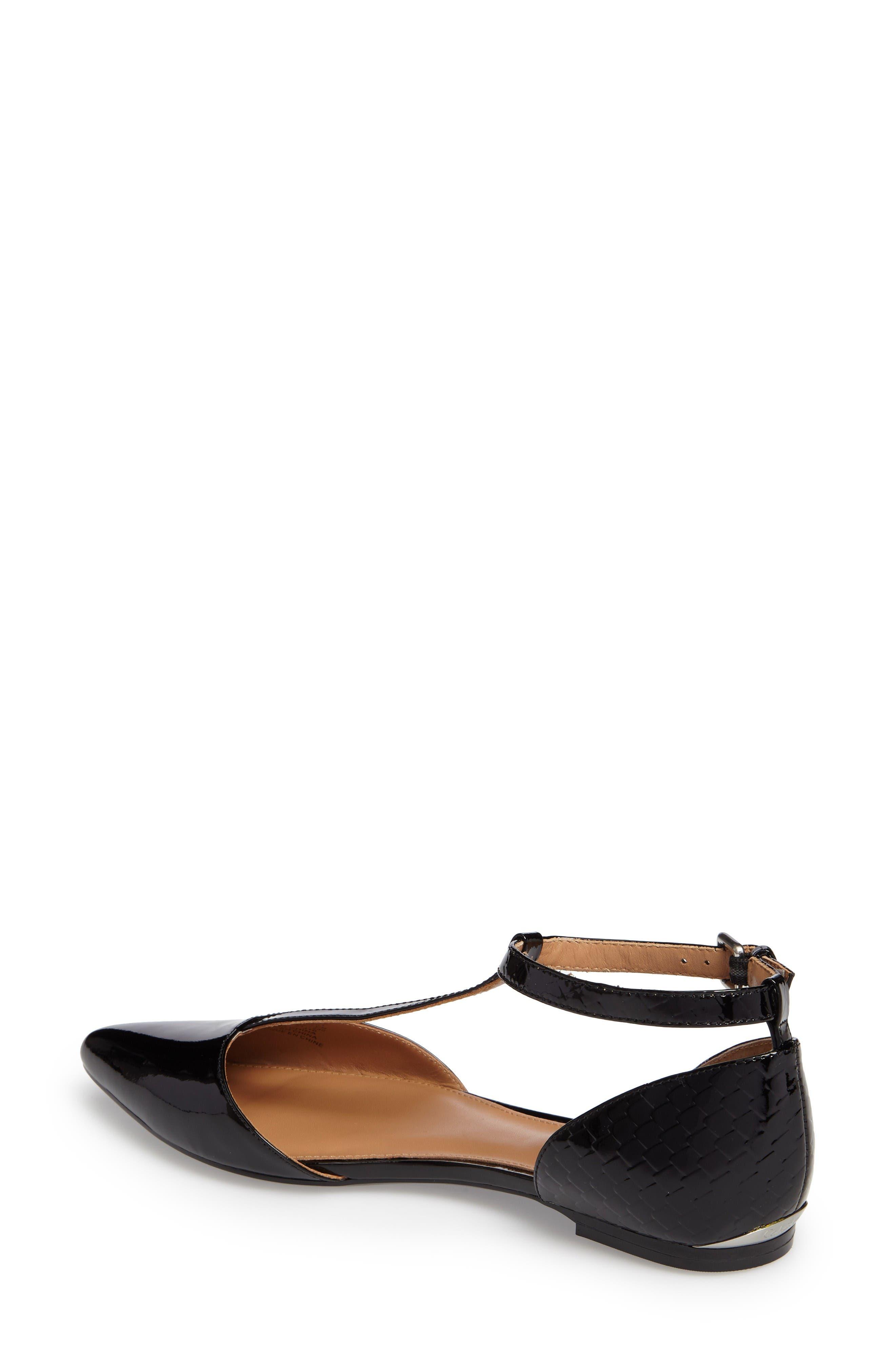 Alternate Image 2  - Calvin Klein 'Ghita' T-Strap Flat (Women)