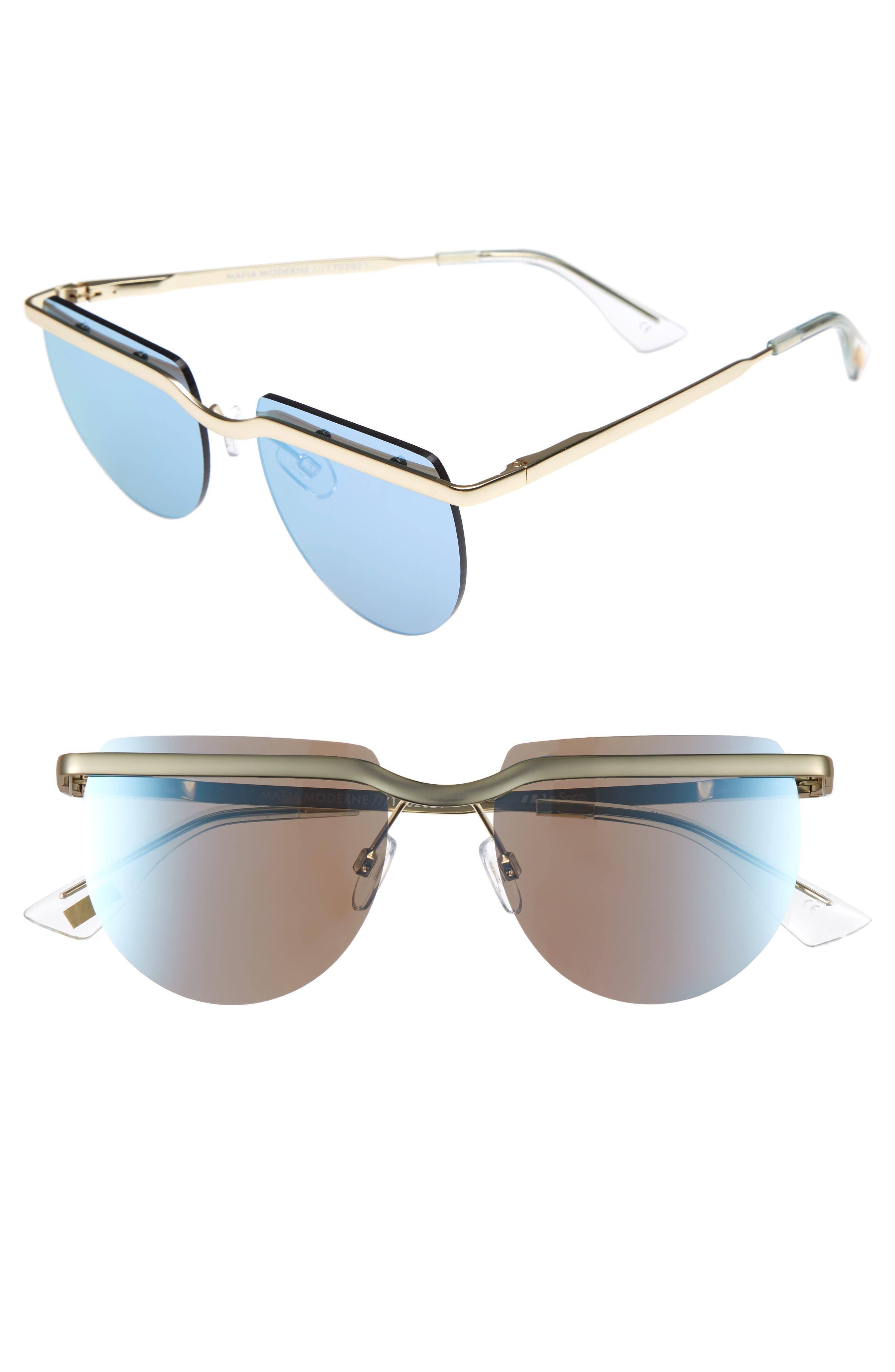 Le Specs Mafia Moderne 52mm Rimless Sunglasses