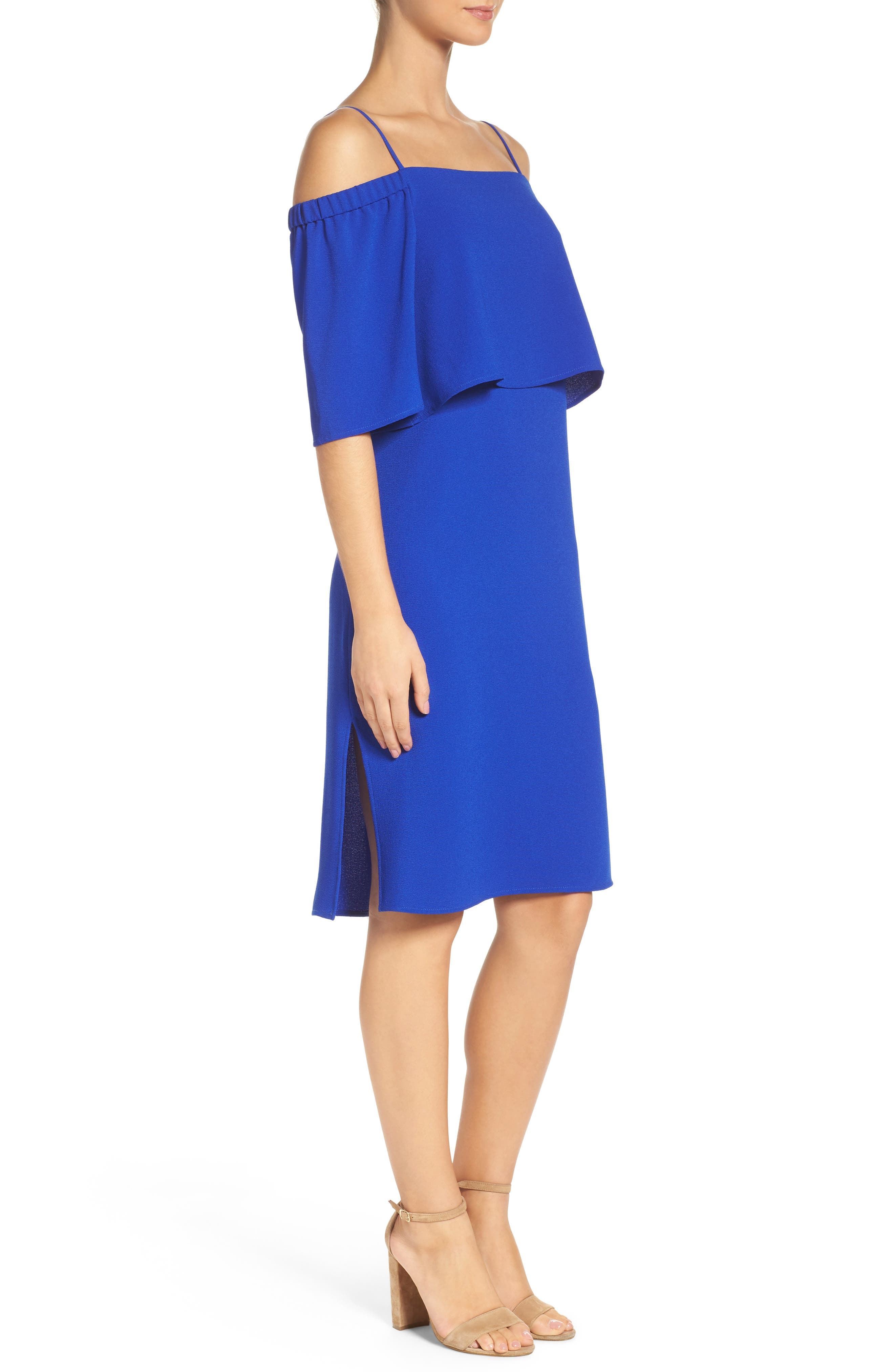 Alternate Image 3  - Charles Henry Popover Midi Dress