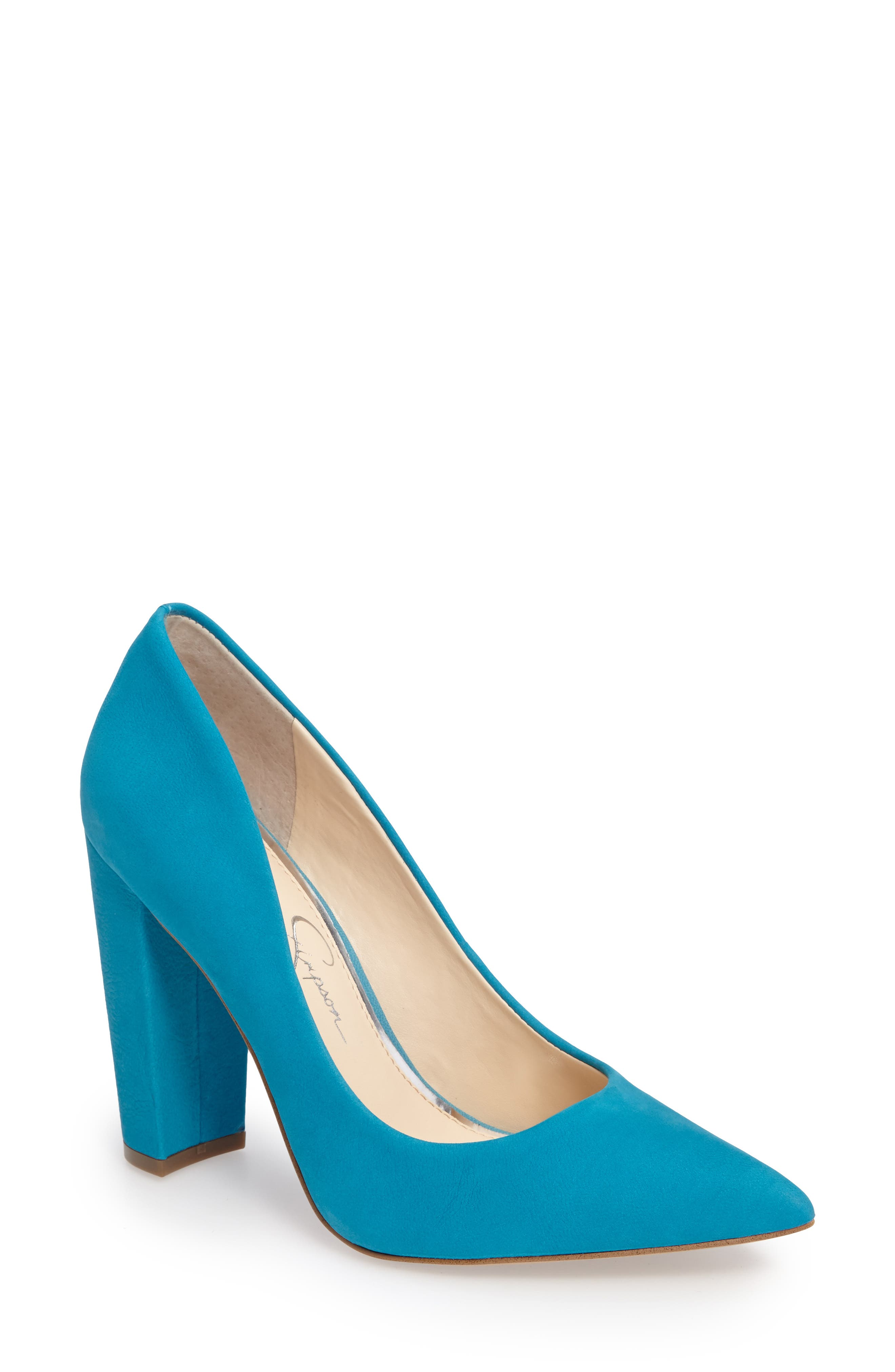 Alternate Image 1 Selected - Jessica Simpson Tanysha Pointy Toe Pump (Women)