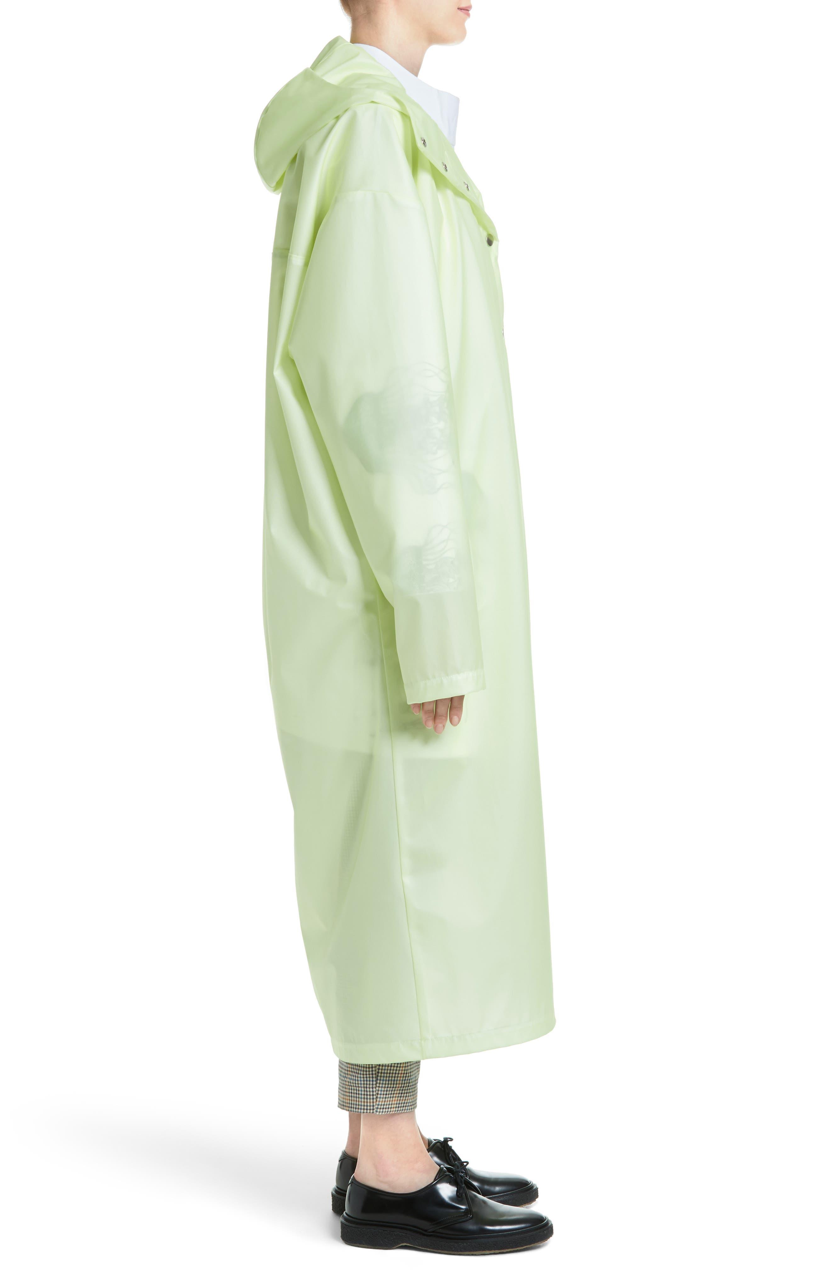 Alternate Image 5  - A.W.A.K.E. Oversize Waterproof Hooded Coat