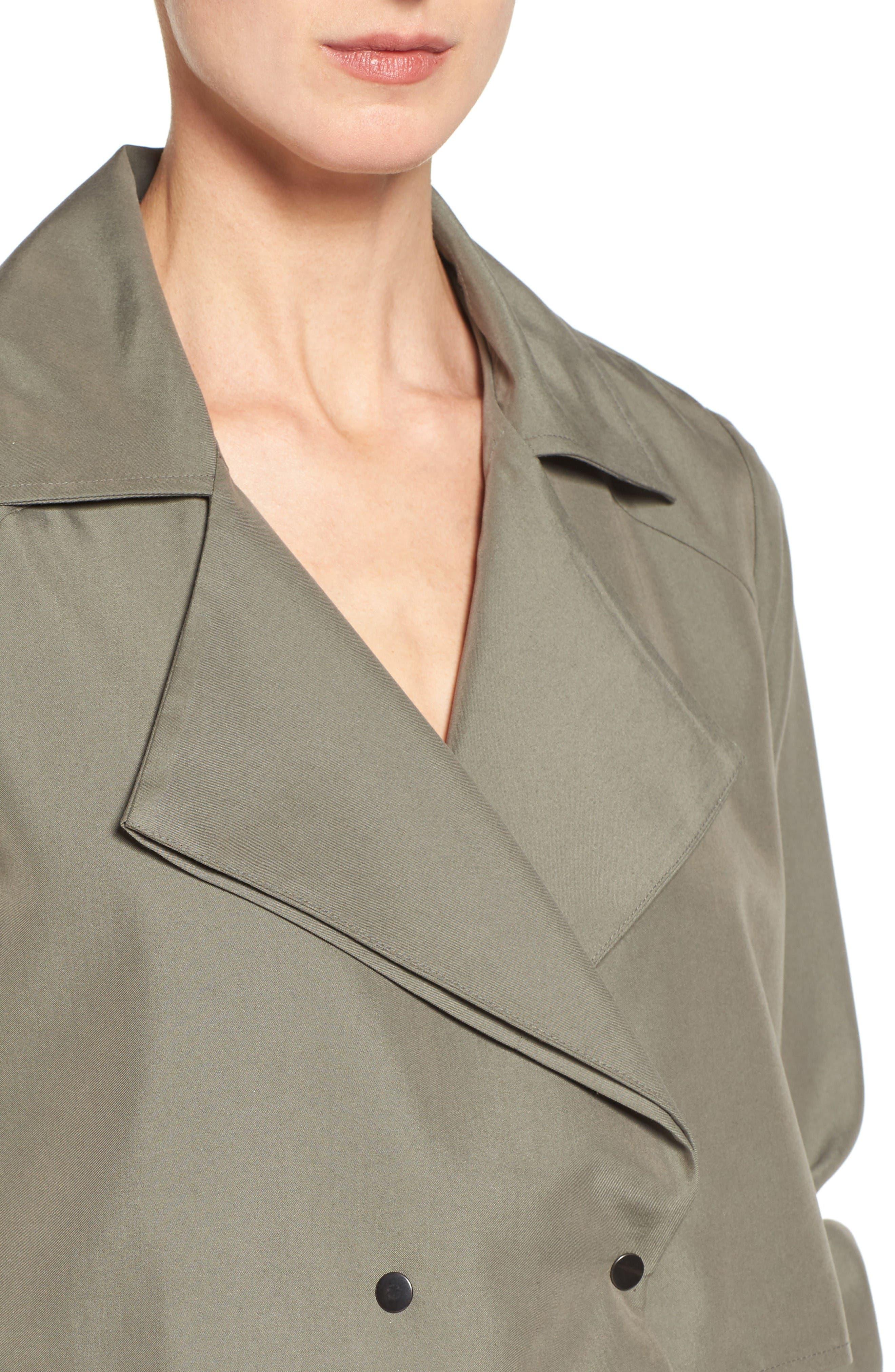 Alternate Image 4  - Halogen® Soft Utility Jacket (Regular & Petite)