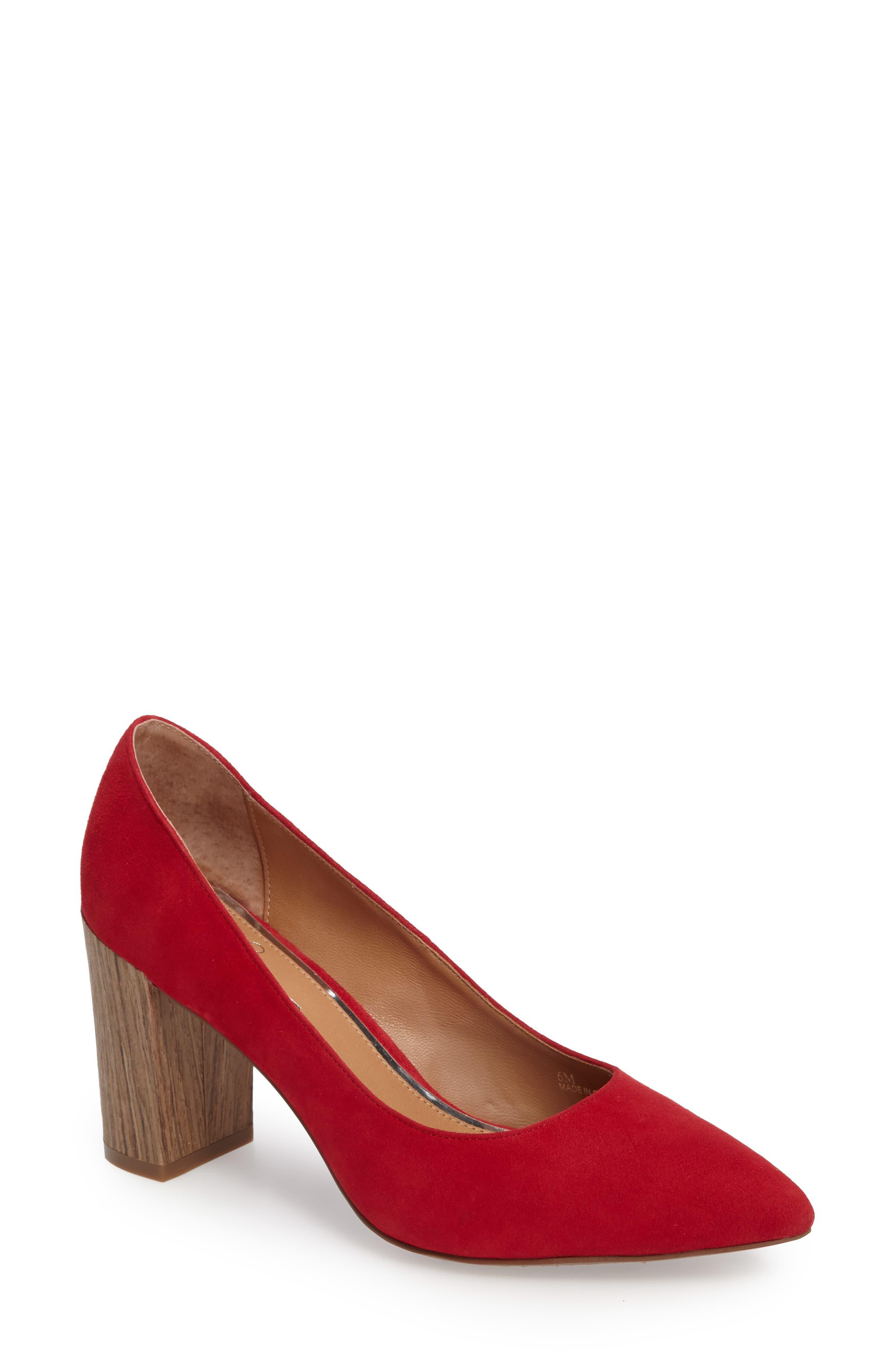 Linea Paolo Hawt Block Heel Pump (Women)