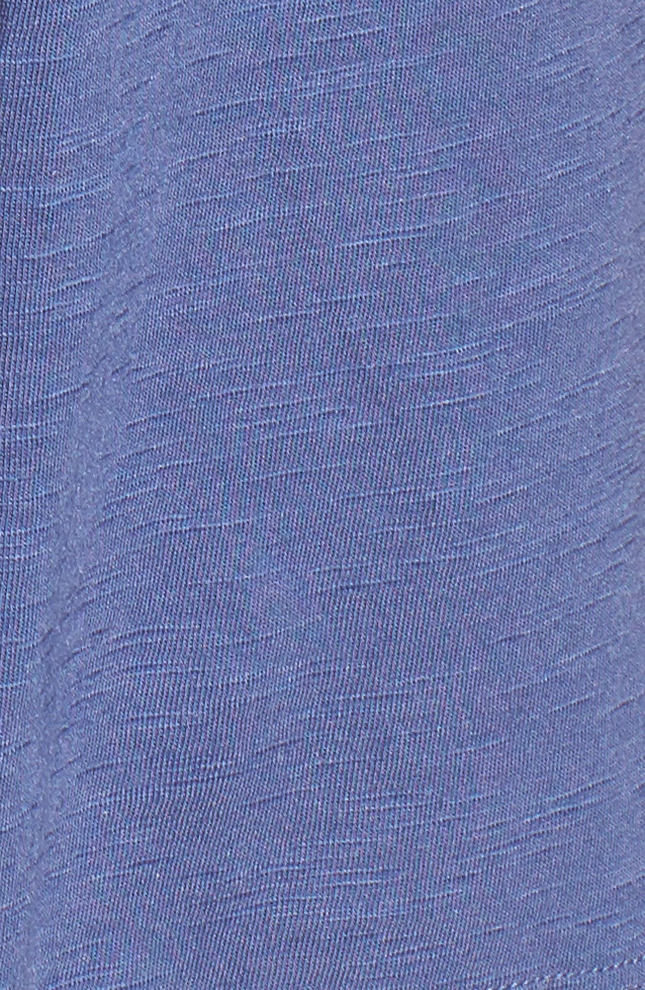 Alternate Image 5  - Caslon® Tassel Trim Embroidered Tank (Regular & Petite)