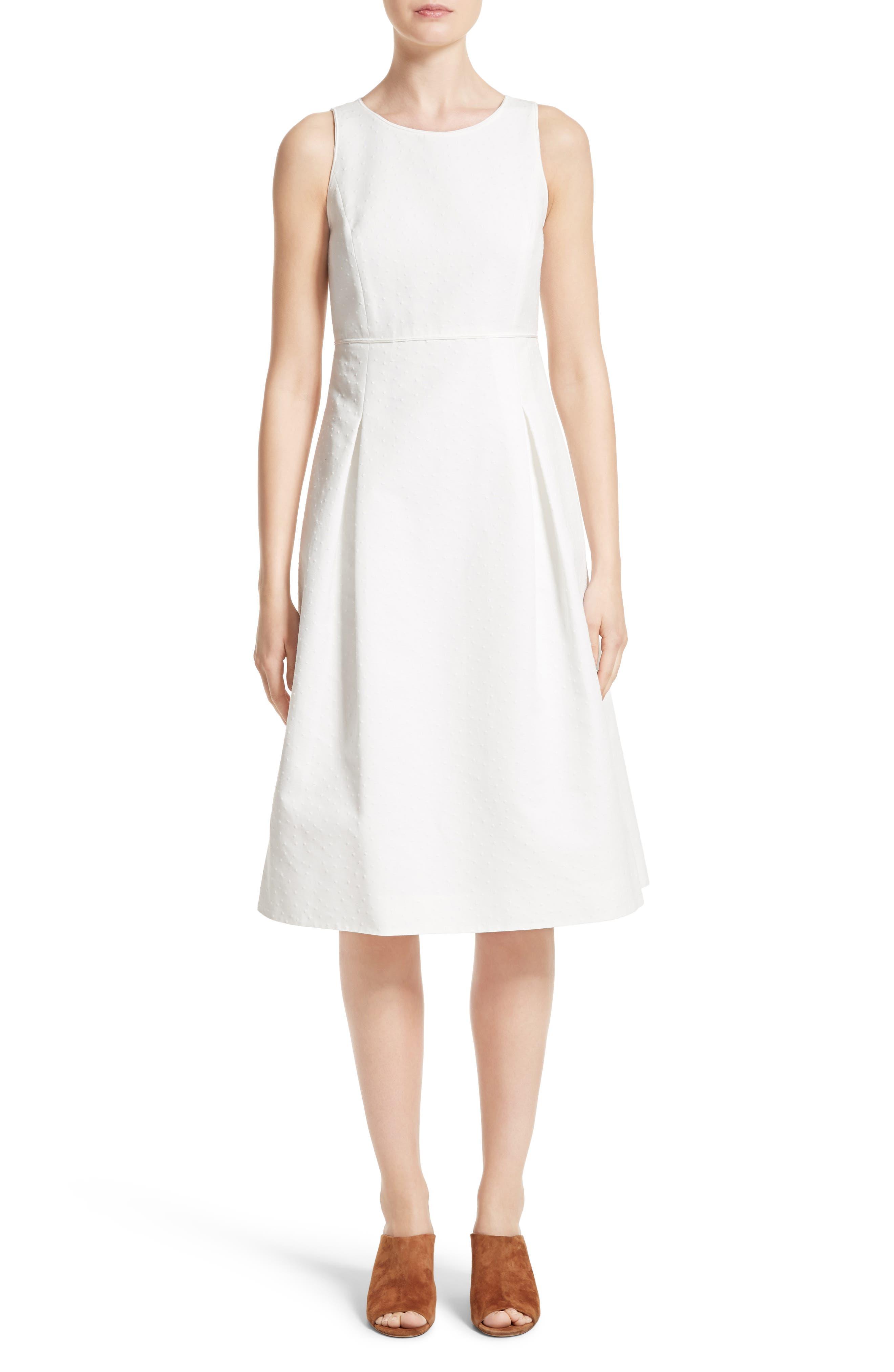 Lafayette 148 New York Jordan Cotton Fit & Flare Dress