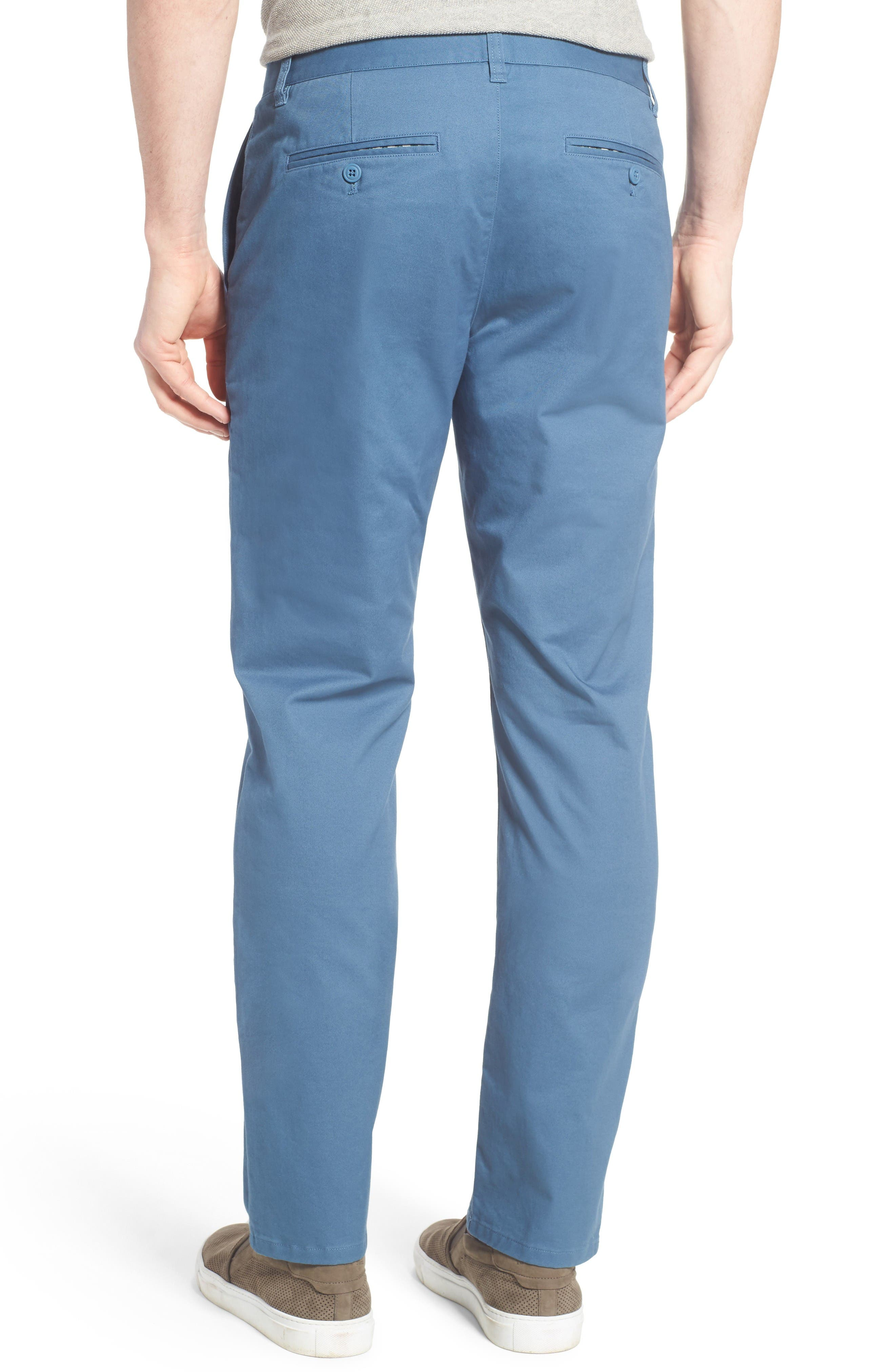 Alternate Image 2  - Bonobos Straight Washed Stretch Chinos