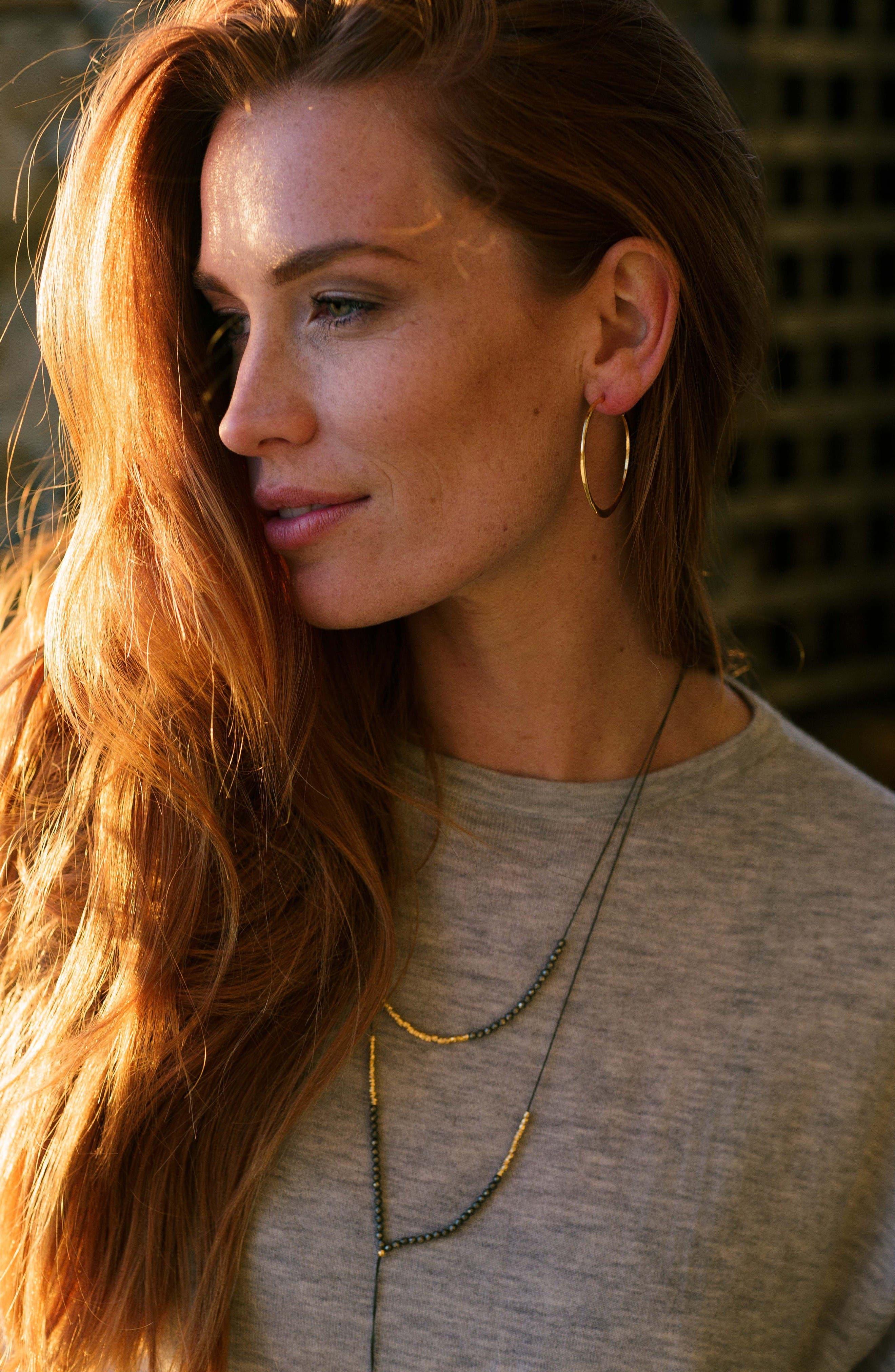 Alternate Image 2  - gorjana 'G Ring' Hoop Earrings