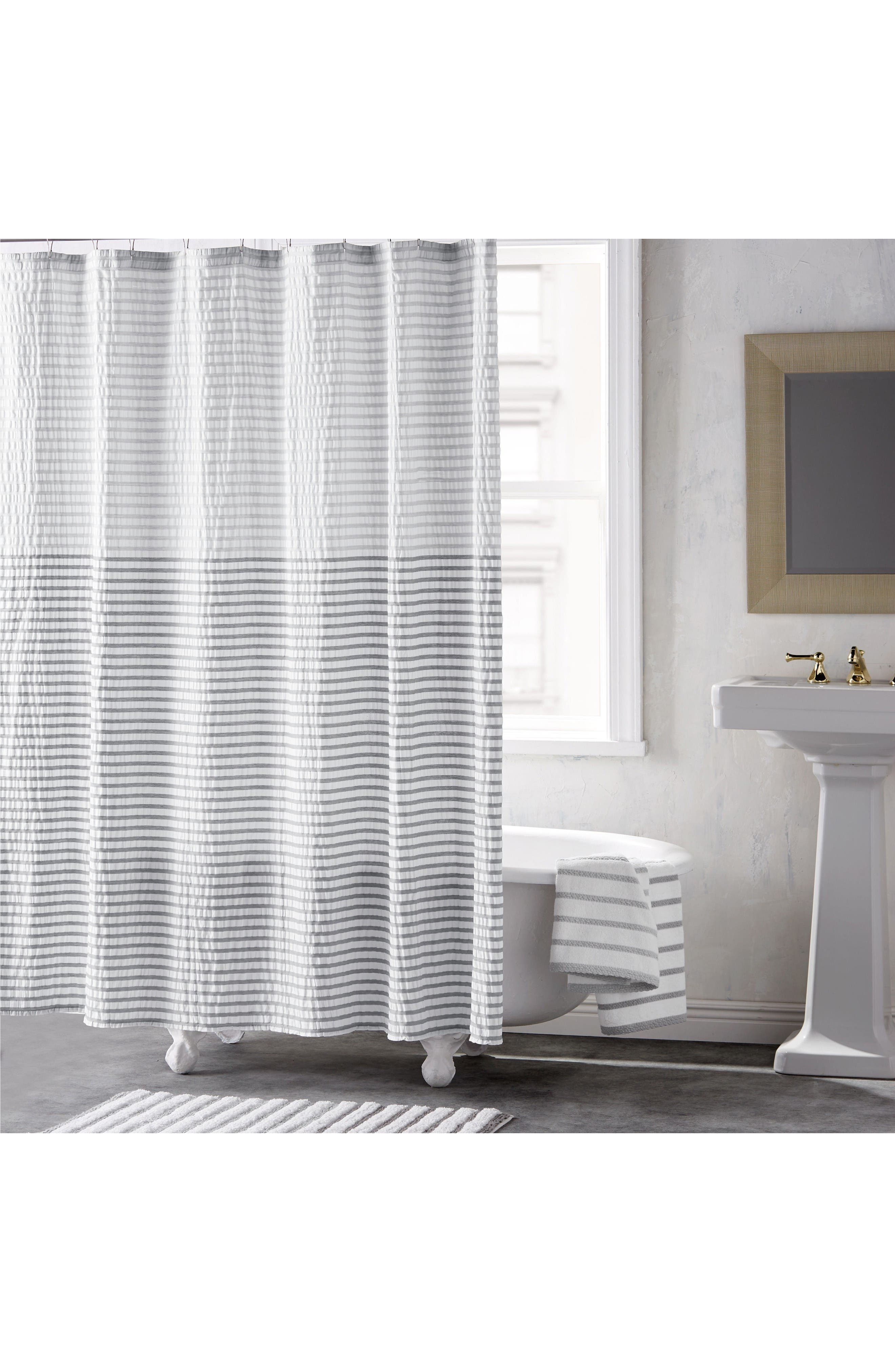 Shower Curtains Nordstrom - Beige and gray shower curtain