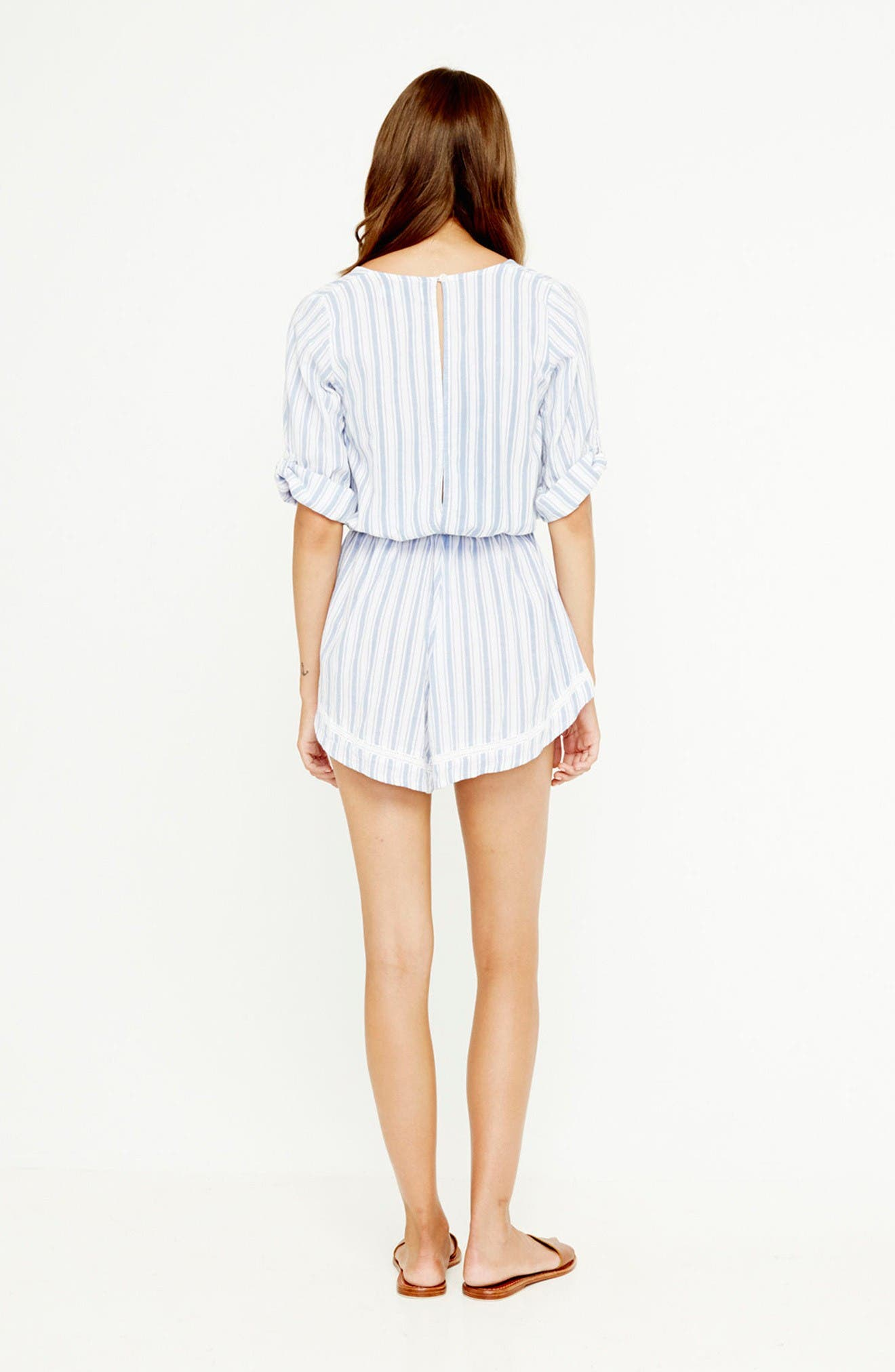 Alternate Image 7  - FAITHFULL THE BRAND Sunkissed Cotton Romper
