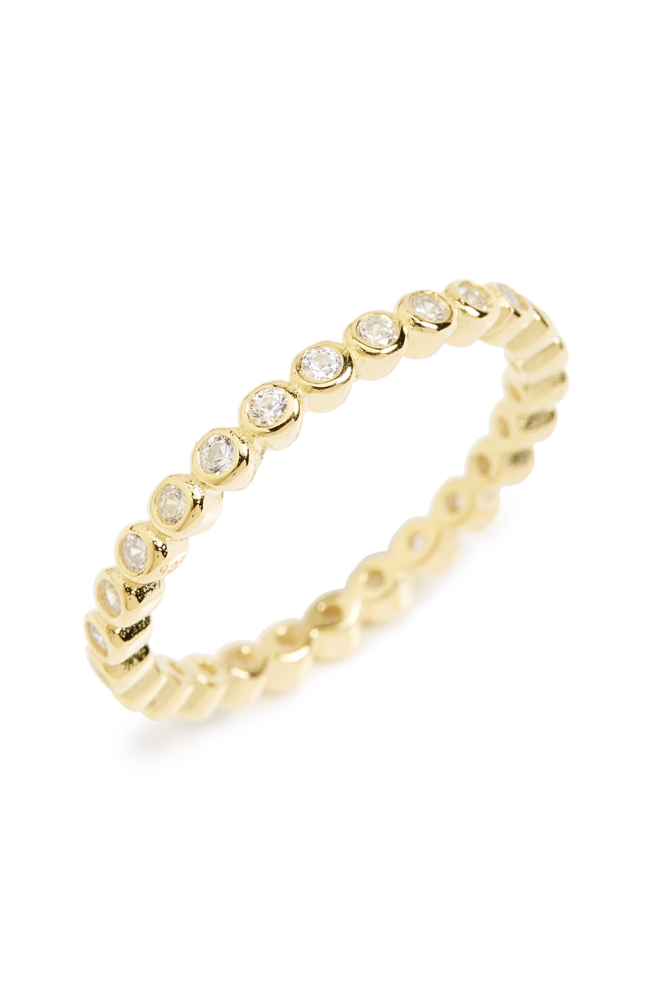 KAREN LONDON Yes Please Infinity Eternity Band Ring