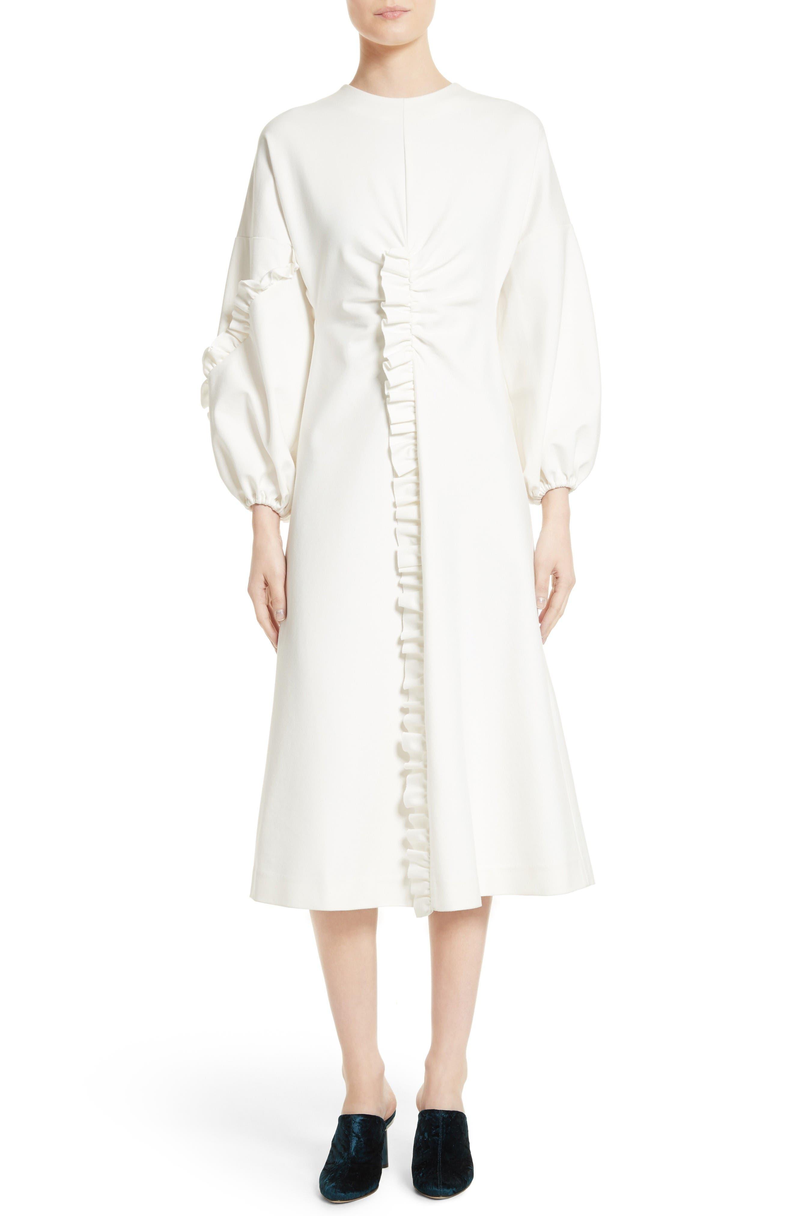 Tibi Bond Street Knit Midi Dress