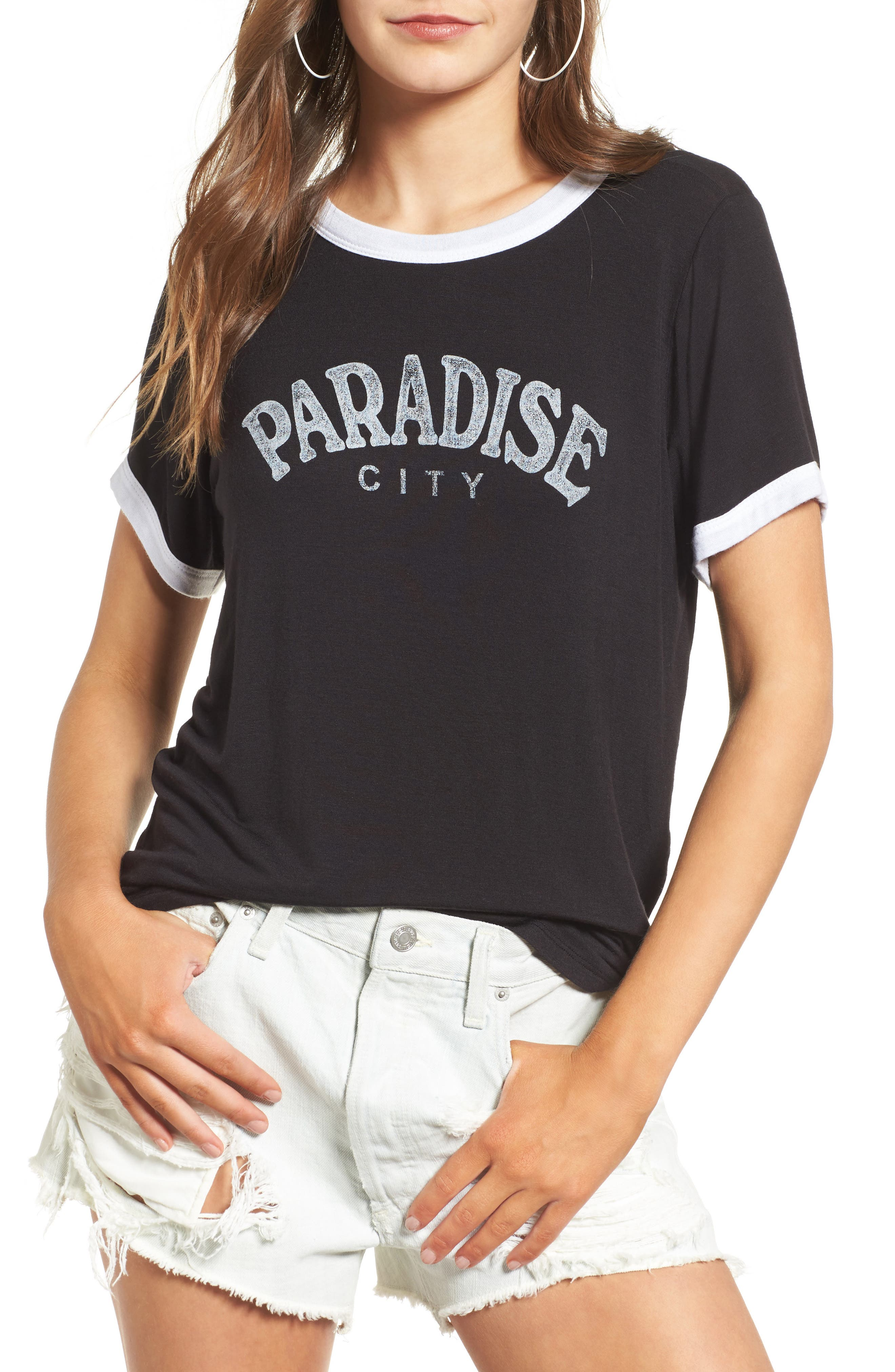 Alternate Image 1 Selected - Daydreamer Paradise City Graphic Tee