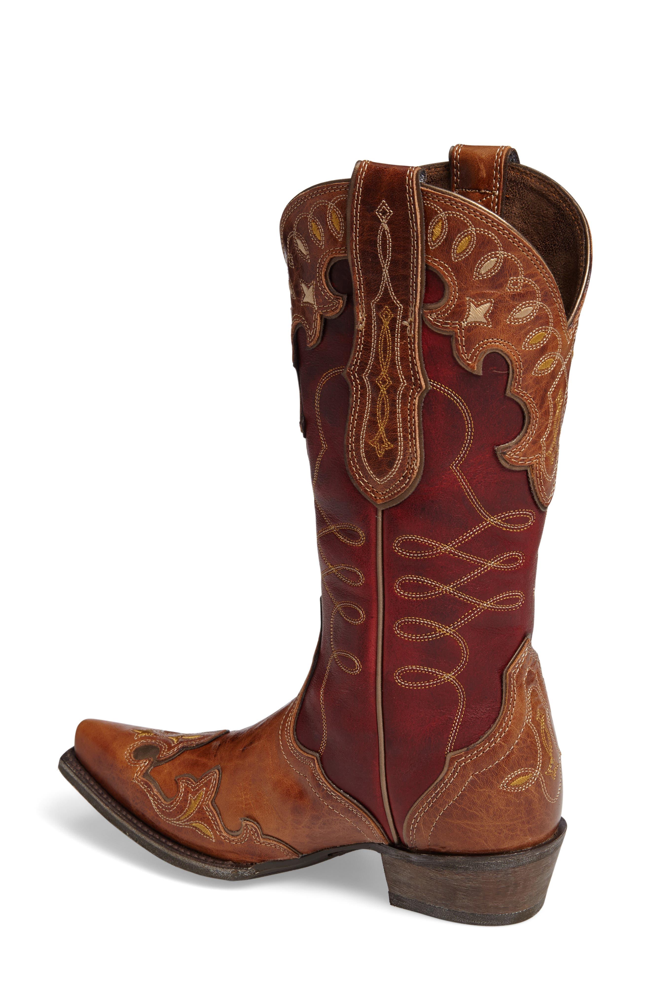 Alternate Image 2  - Ariat Zealous Wingtip Western Boot (Women)