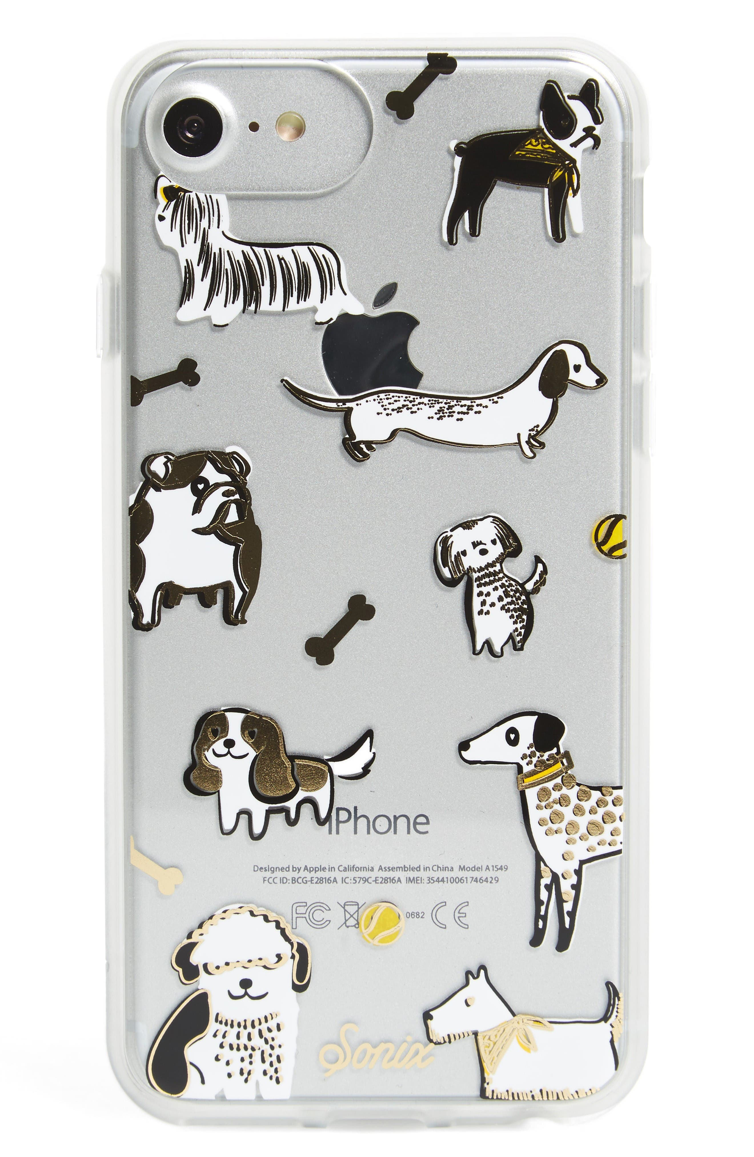 Alternate Image 1 Selected - Sonix Puppy Love iPhone 6/7 & 6/7 Plus Case (Nordstrom Exclusive)