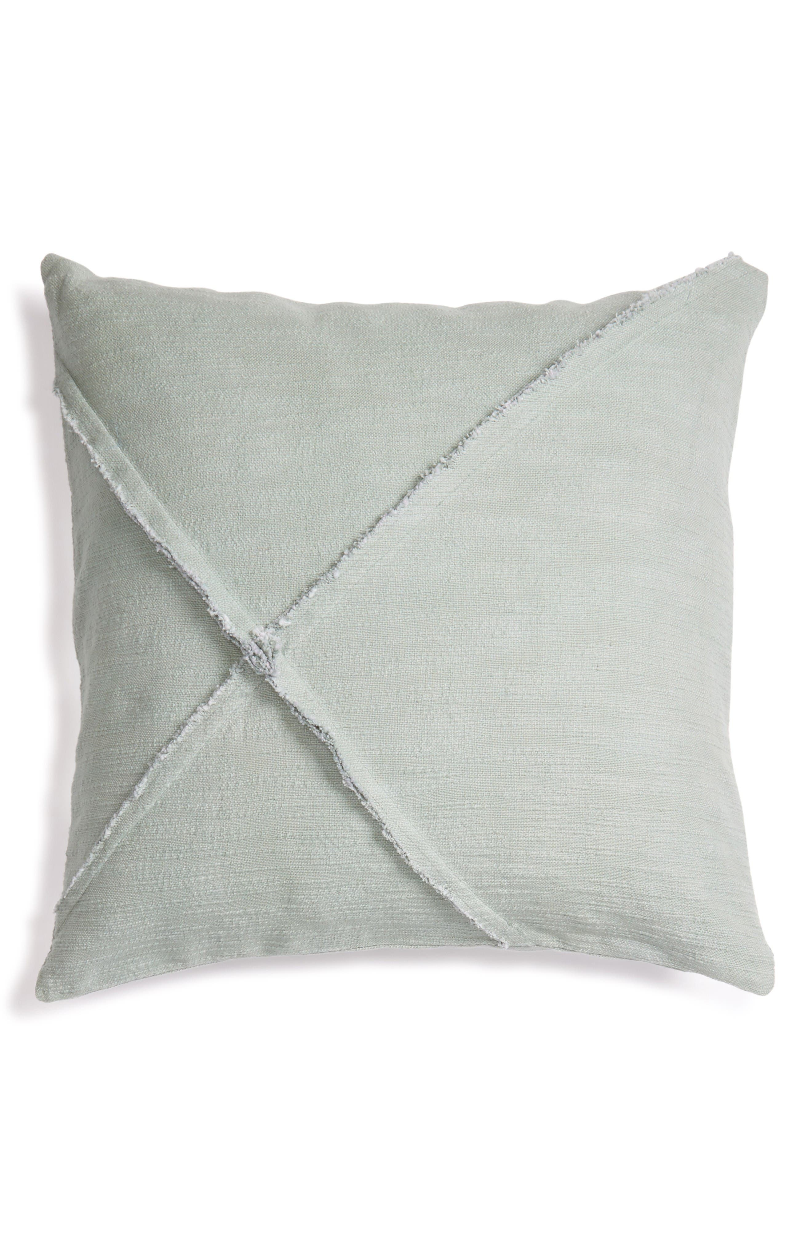 Nordstrom at Home Frayed Accent Pillow