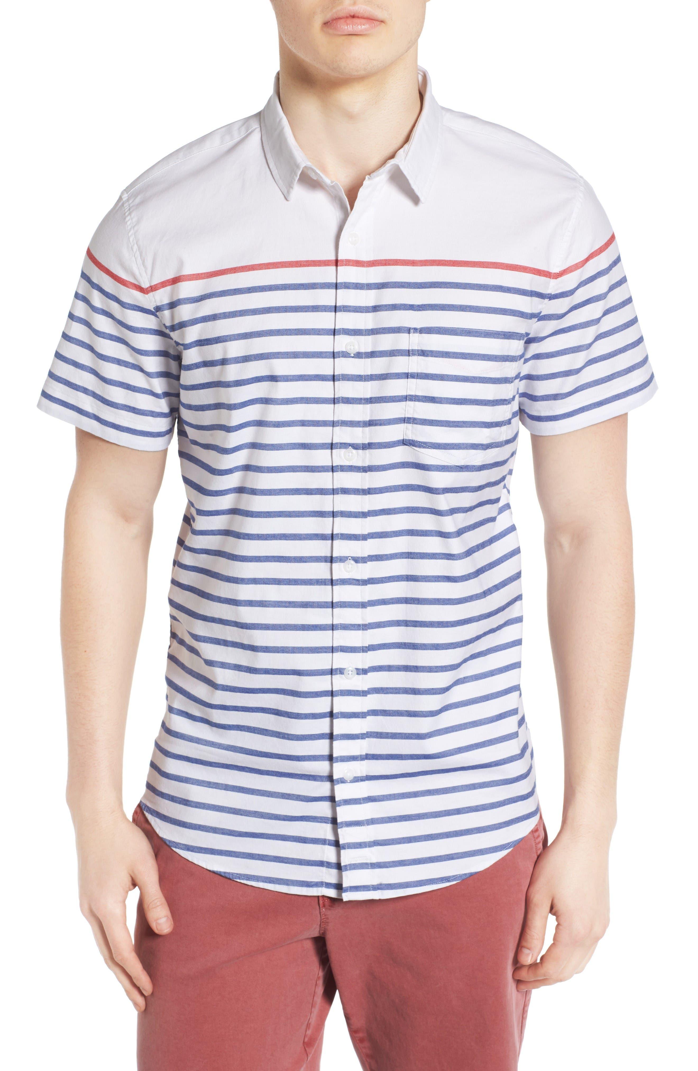 1901 Stripe Woven Shirt