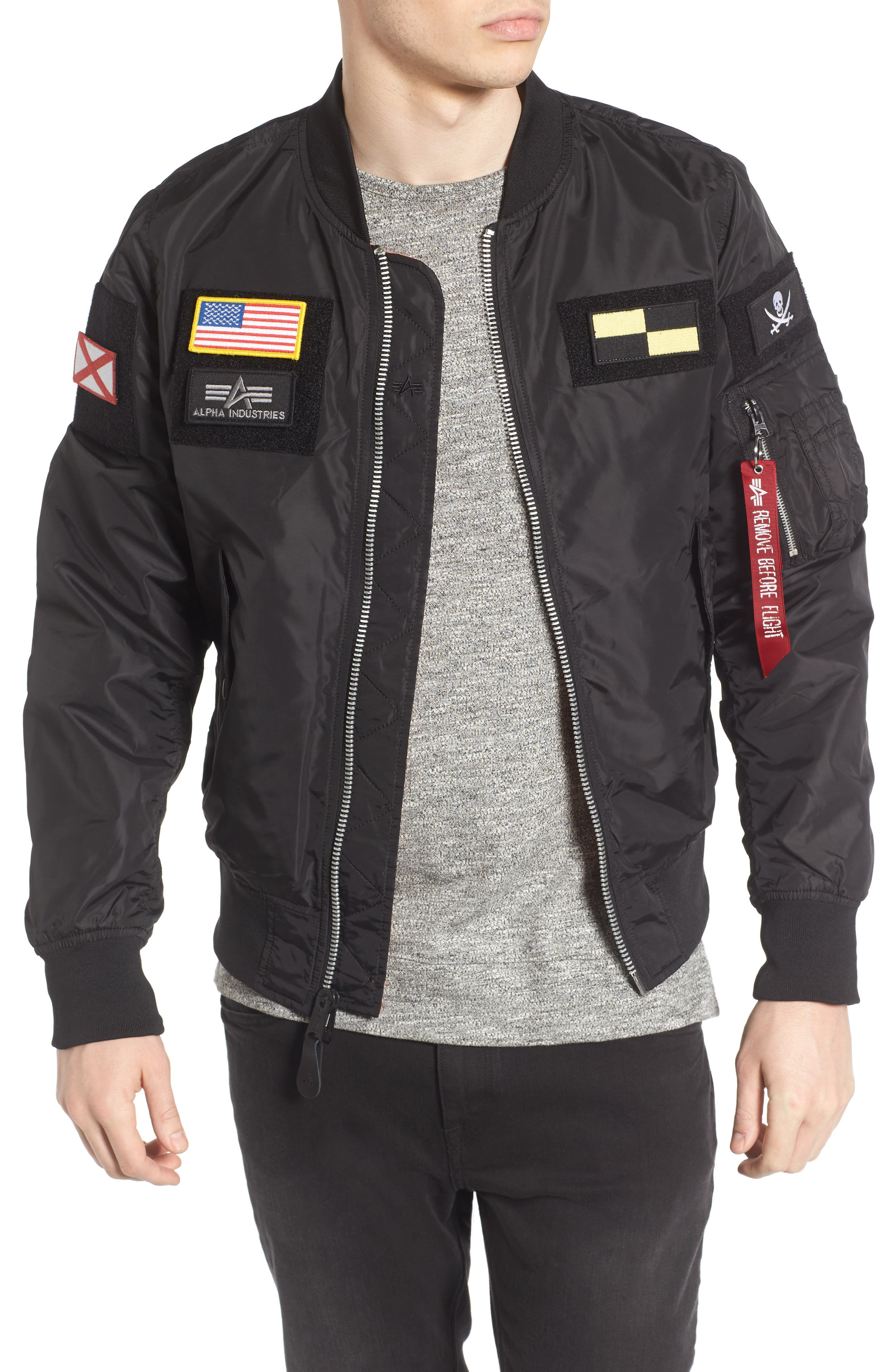 Alpha Industries L-2B Flex Reversible Flight Jacket