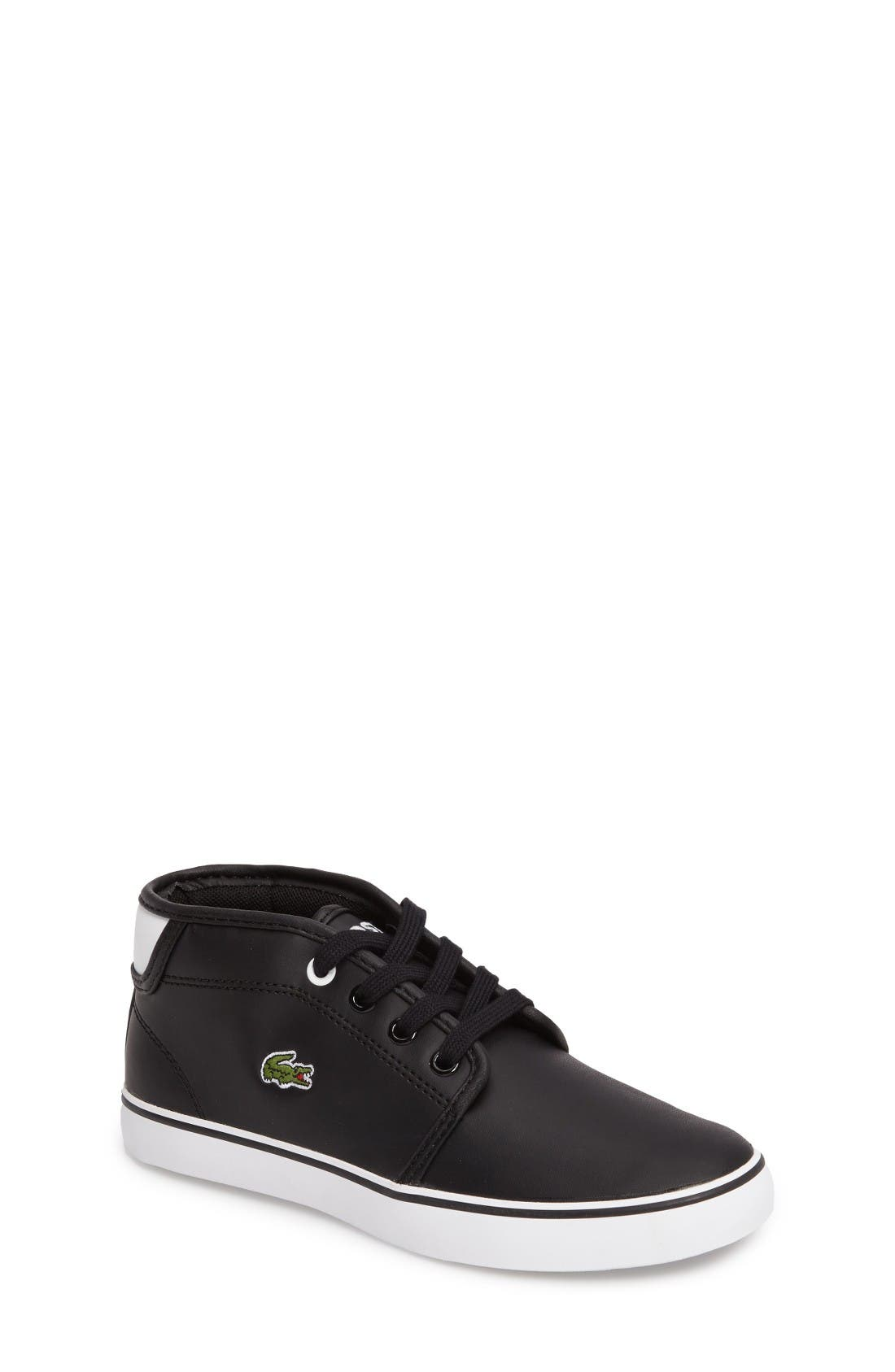 Lacoste Ampthill High Top Sneaker (Baby, Walker, Toddler, Little Kid & Big Kid)