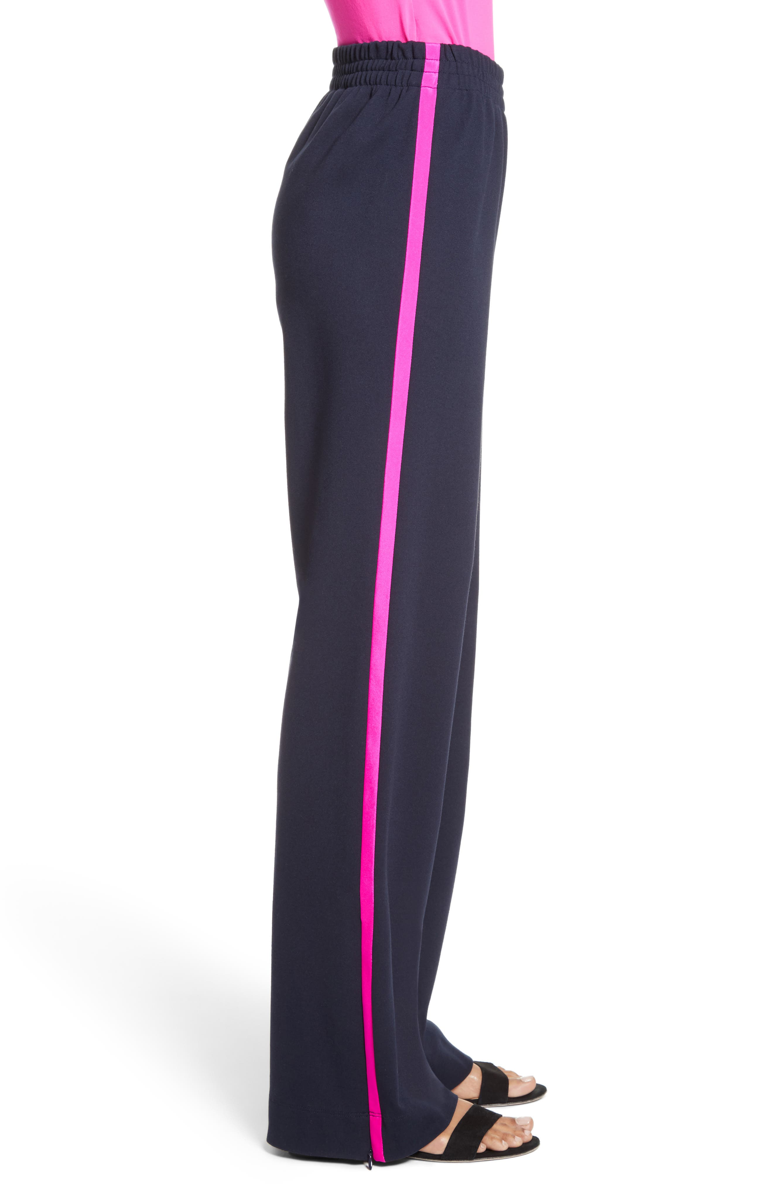 Alternate Image 3  - St. John Collection Wide Leg Ponte Track Pants