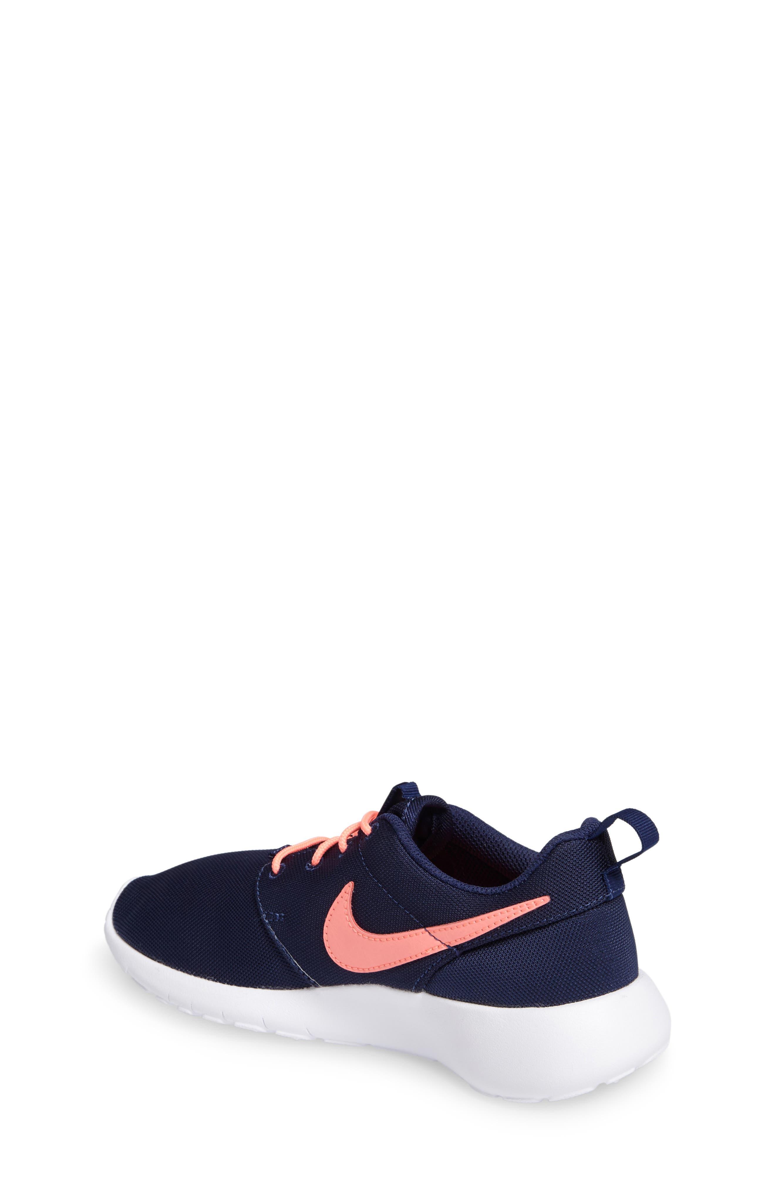 Alternate Image 2  - Nike 'Roshe Run' Athletic Shoe (Little Kid & Big Kid)