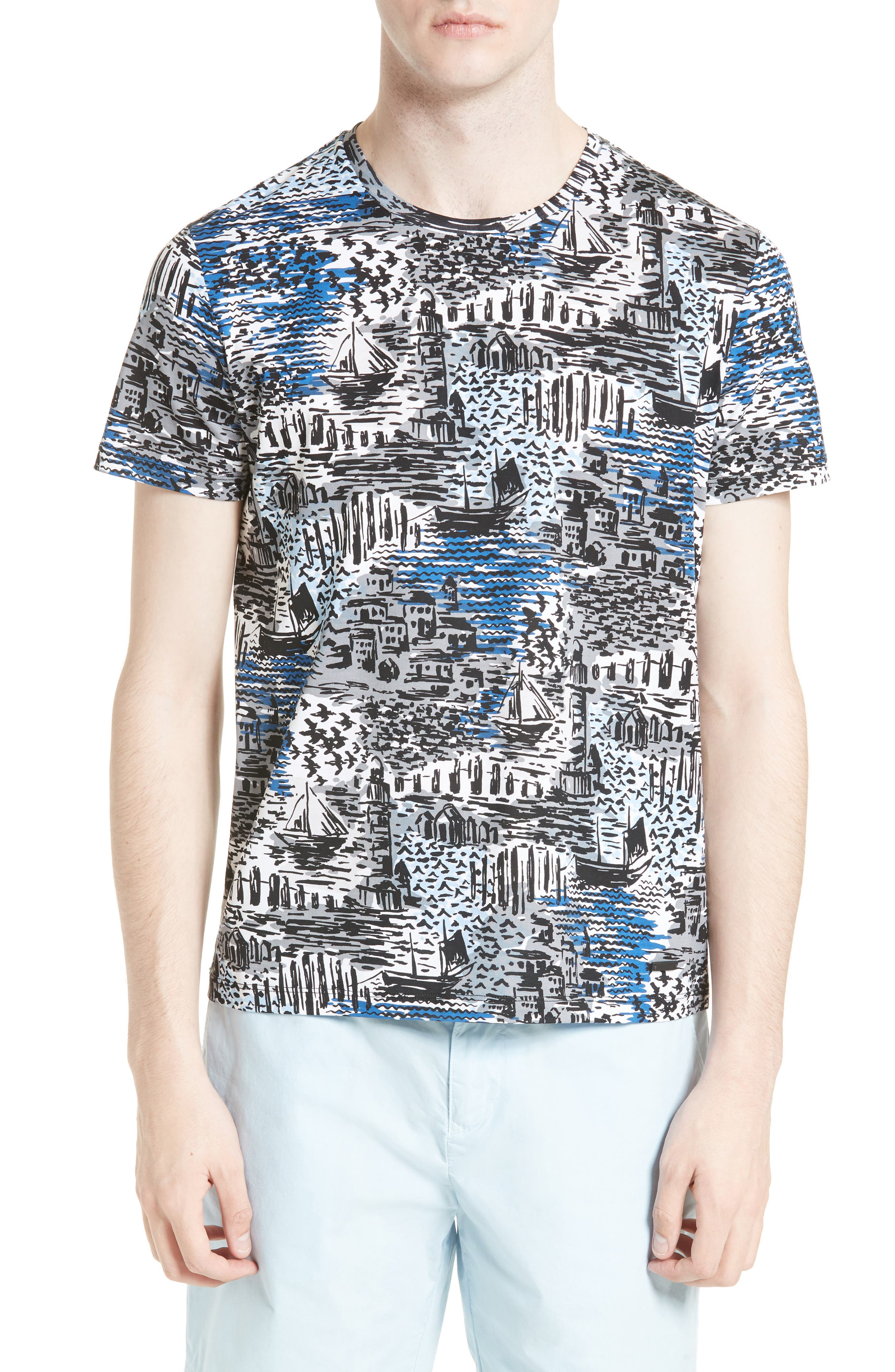 BURBERRY Leybridge Graphic T-Shirt