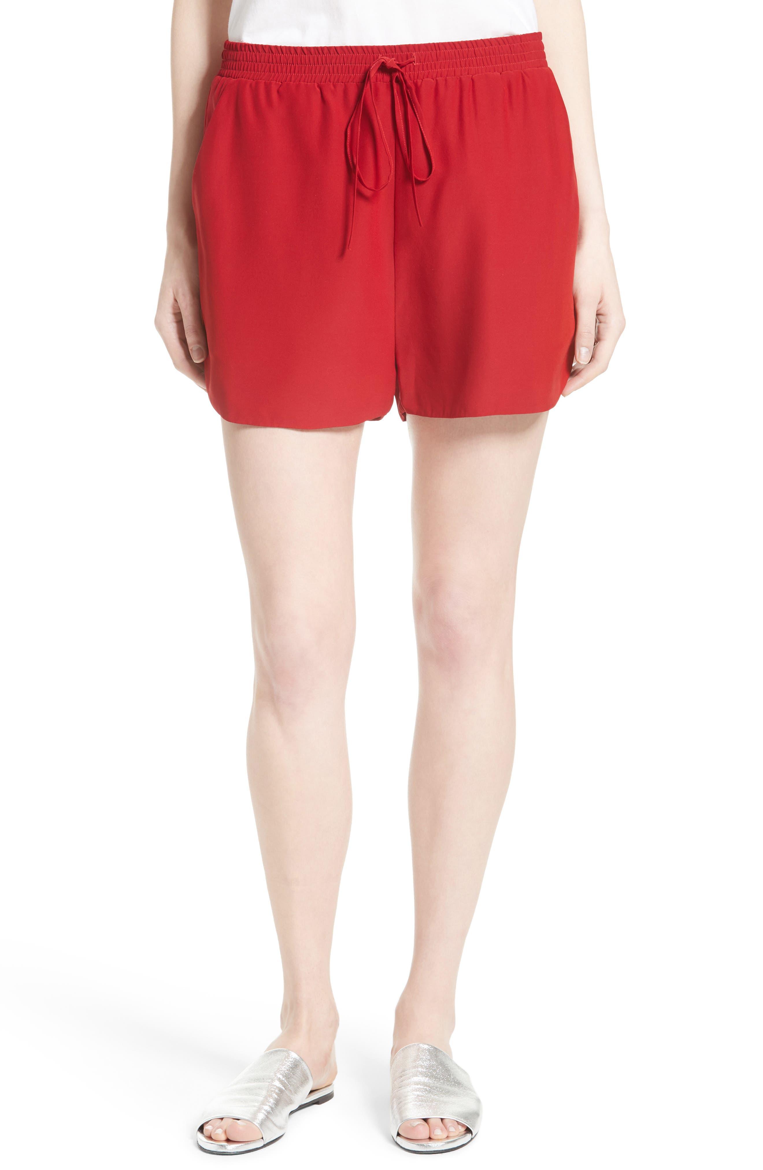 Robert Rodriguez Silk Shorts
