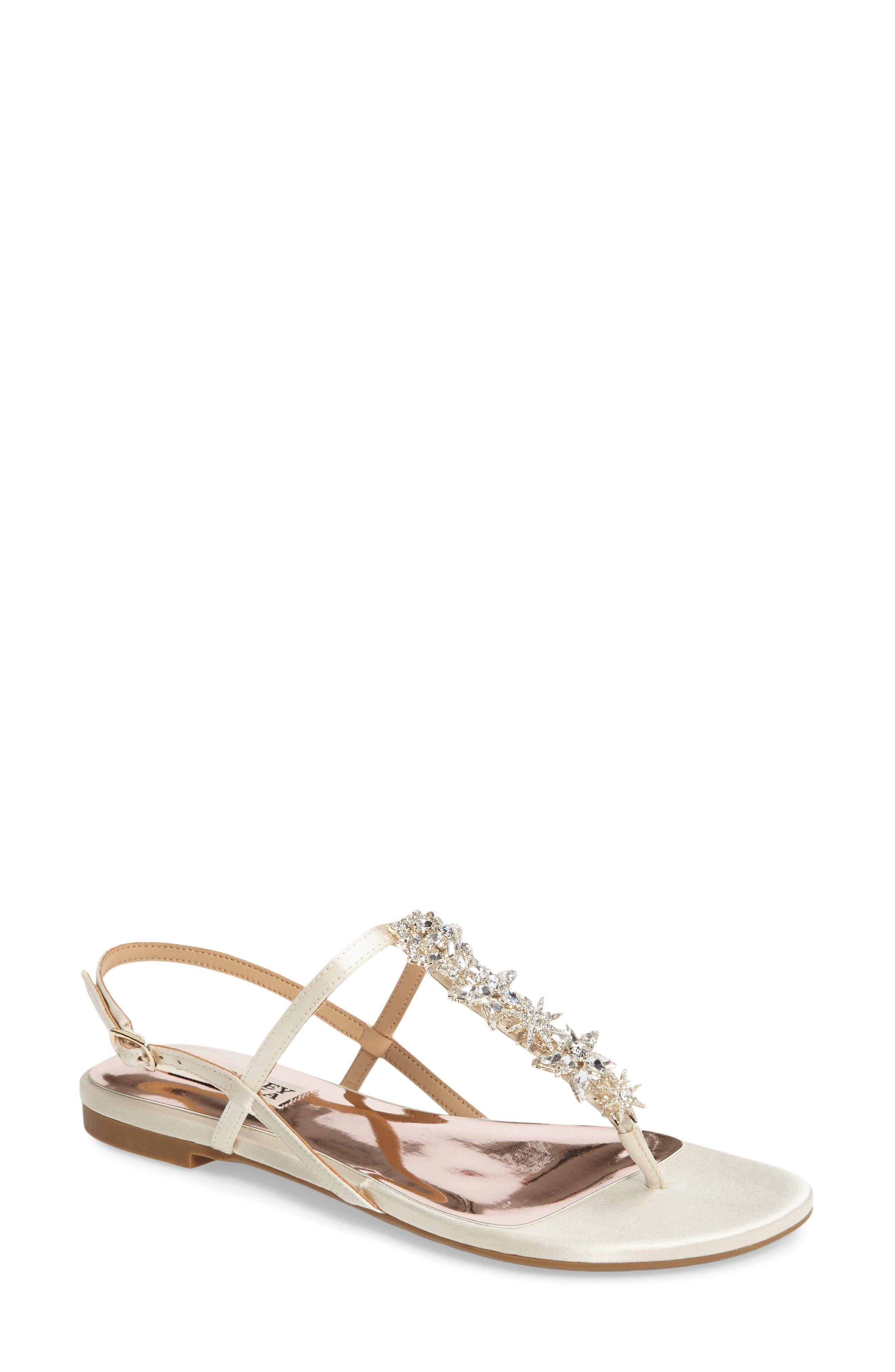 Badgley Mischkia Tate Crystal Sandal (Women)